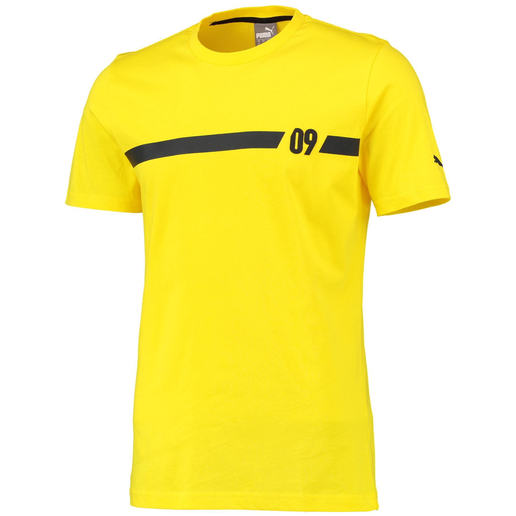 BVB 09 T-Shirt Yellow