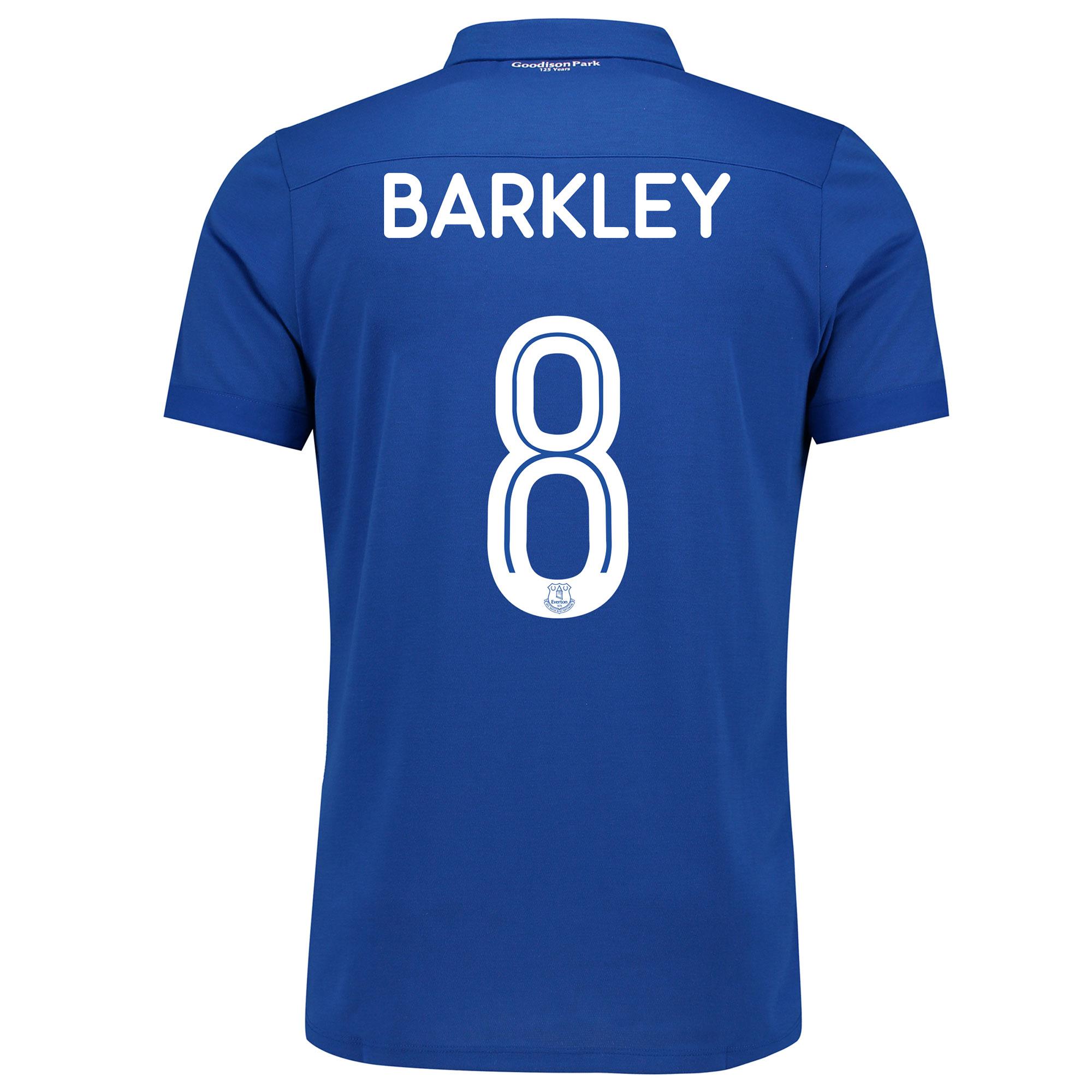 Image of Everton Commemorative Shirt - Junior with Barkley 8 printing