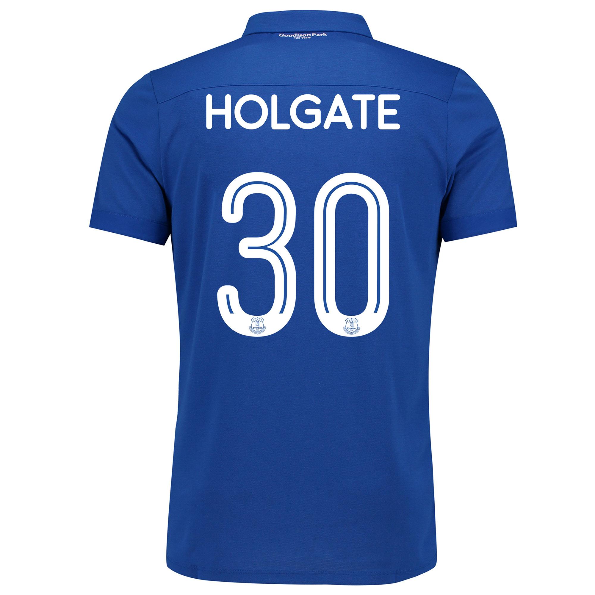 Image of Everton Commemorative Shirt - Junior with Holgate 30 printing