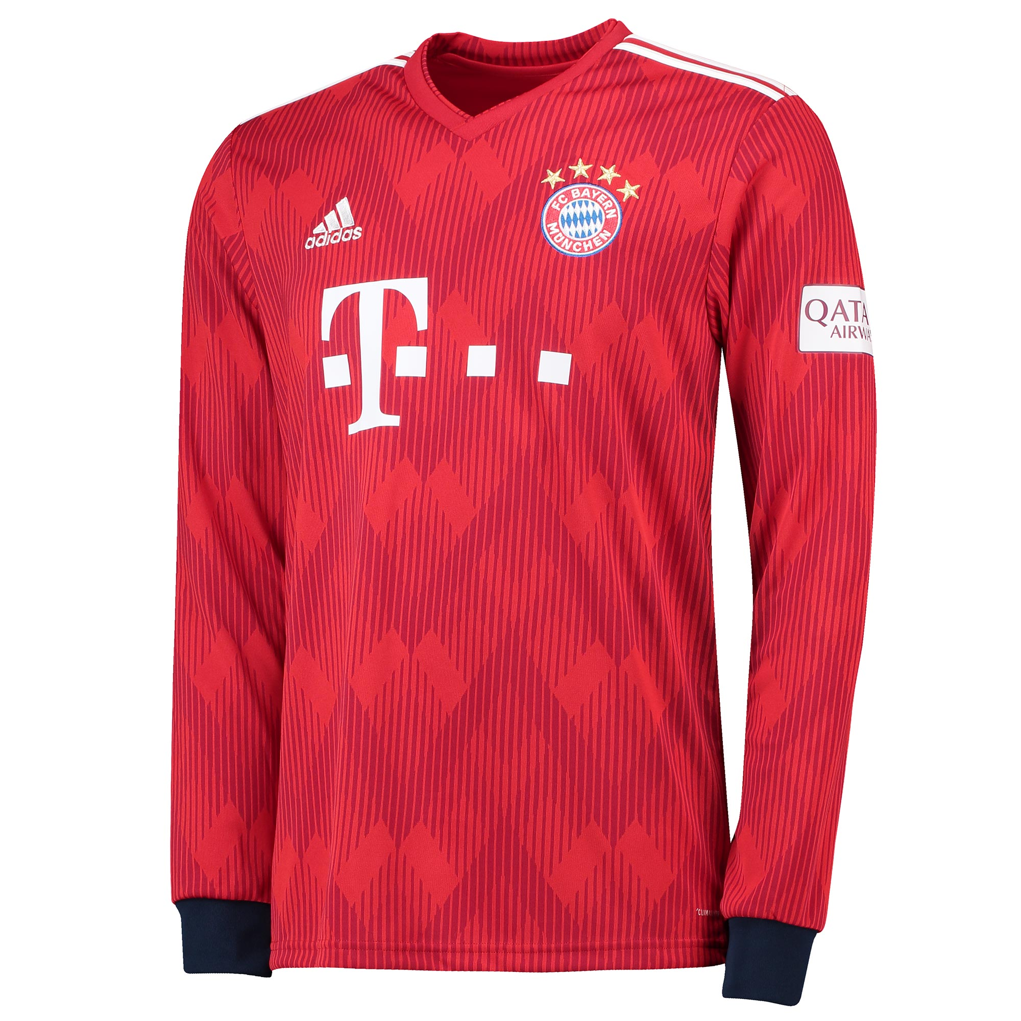 FC Bayern Home Shirt 2018-19 - Long Sleeve