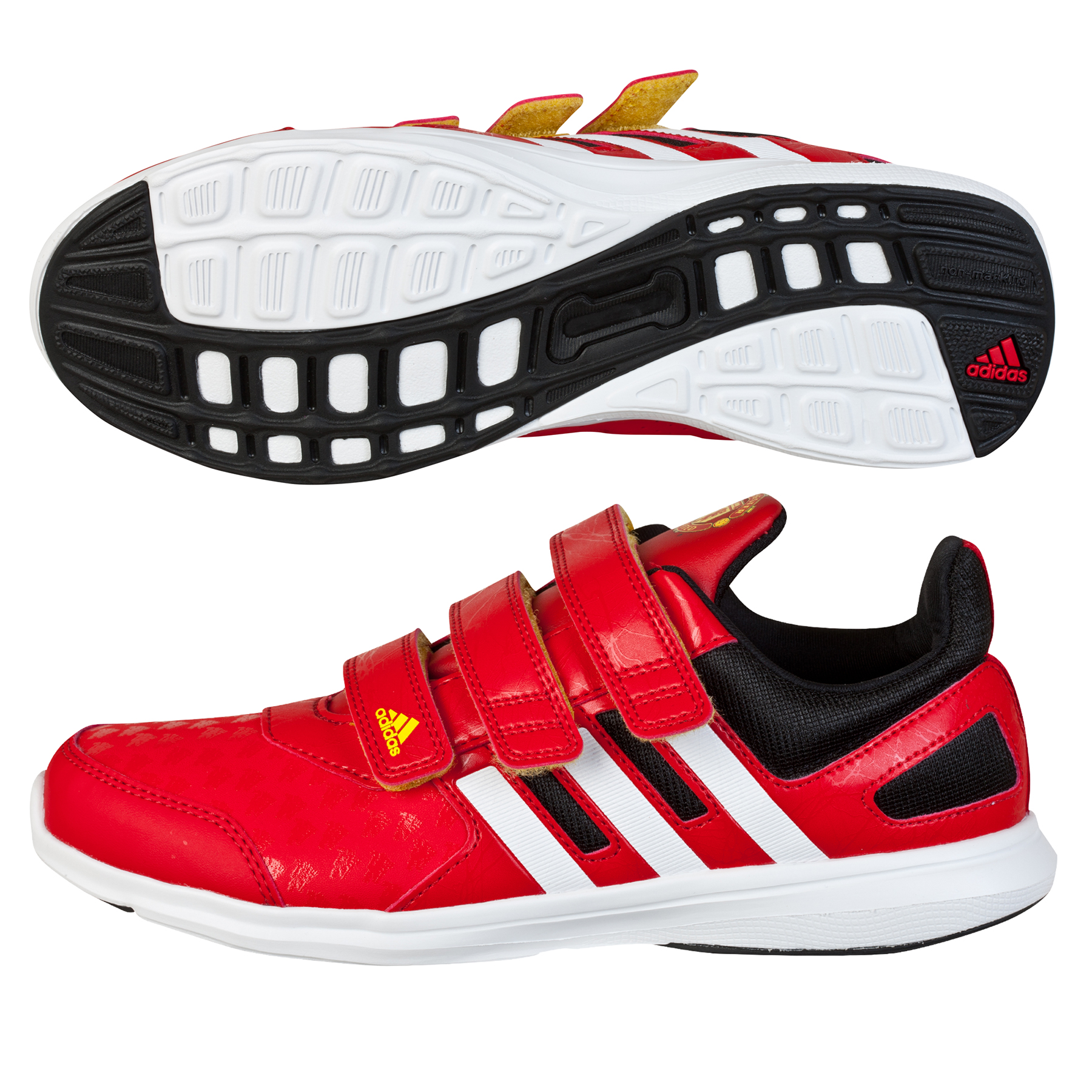 Manchester United Hyperfast Trainer  Kids Red