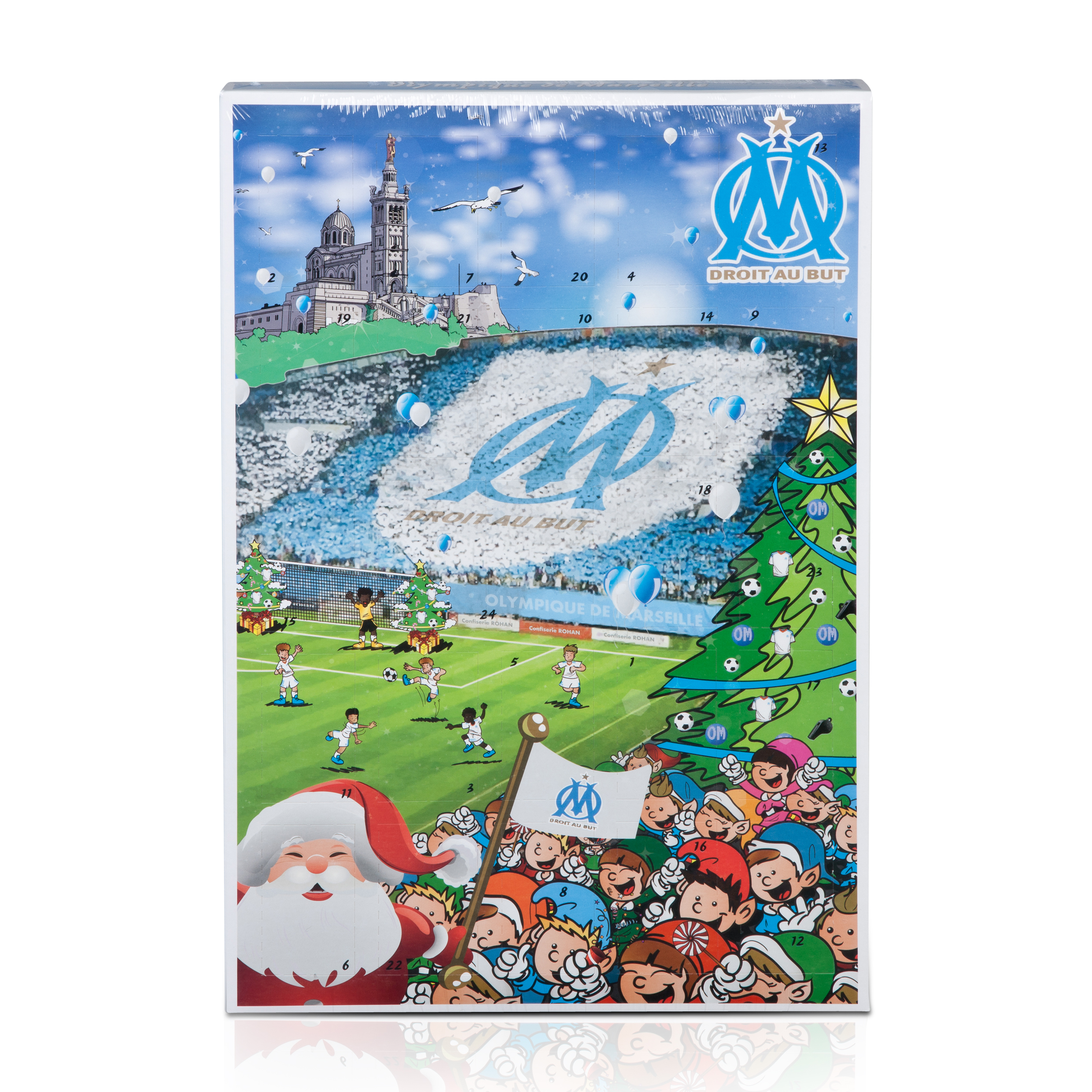 Olympique de Marseille Advent Calendar