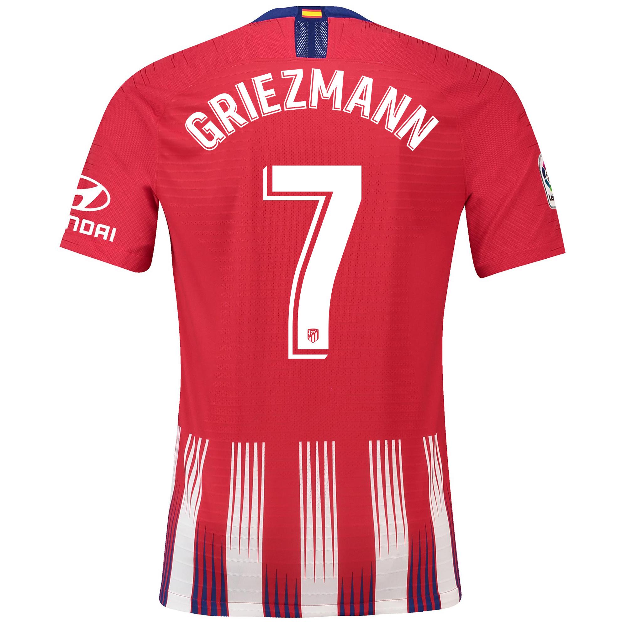 Maillot de match Domicile Vapor Atlético de Madrid 2018-19 avec flocage 7 Griezmann