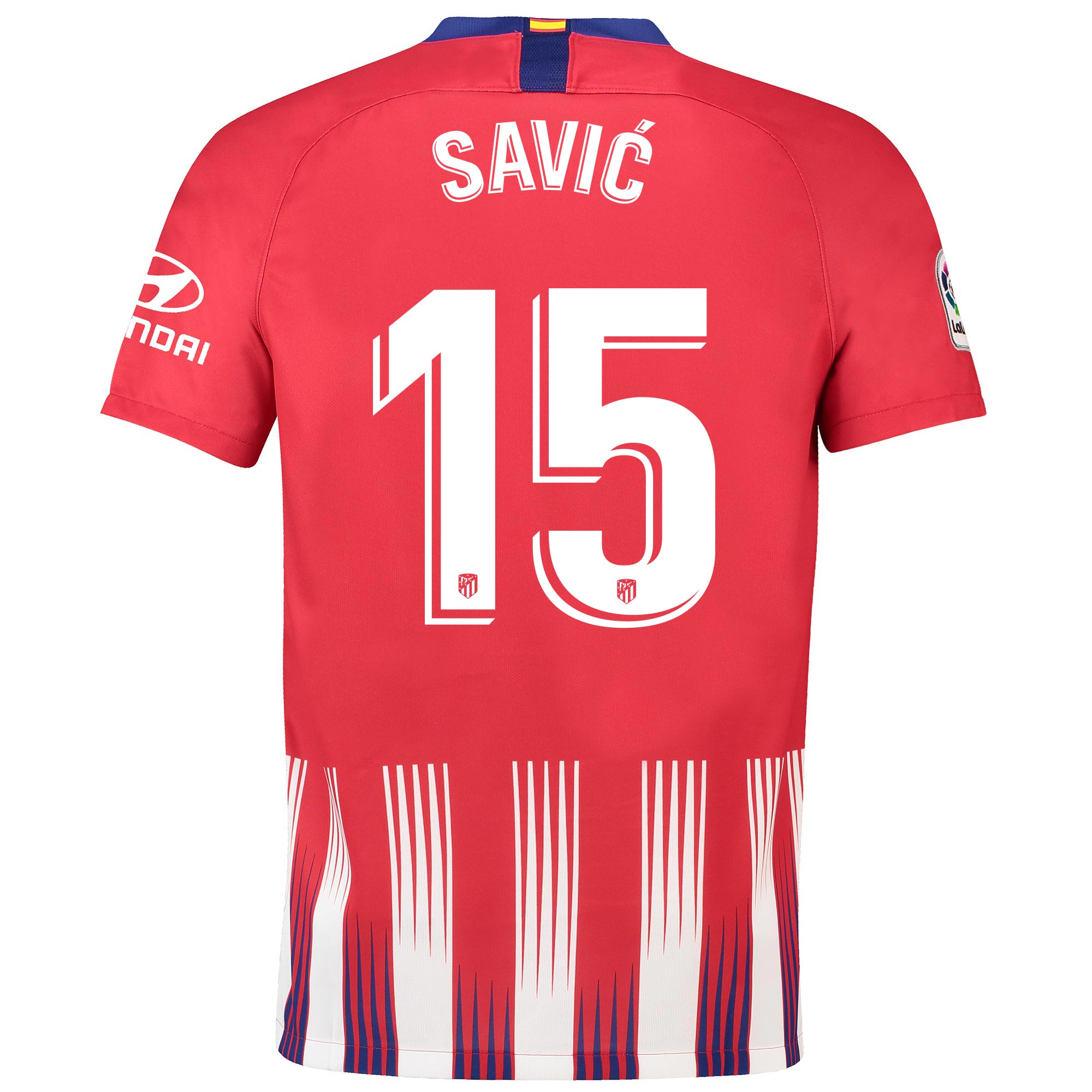 Camiseta de la 1ª equipación Stadium del Atlético de Madrid 2018-19 dorsal Savic 15