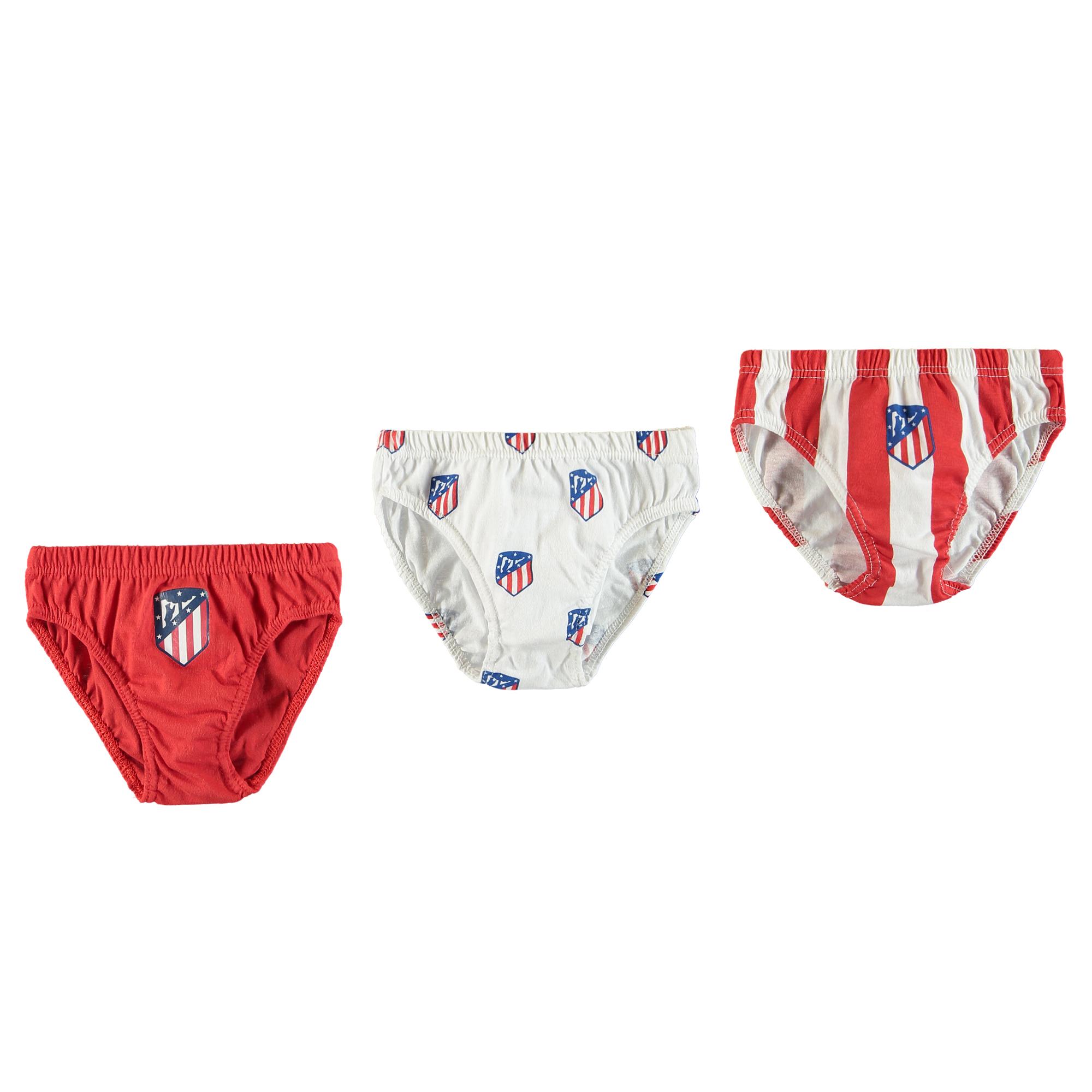 Slips de l'Atlético de Madrid - Rouge/Blanc - Enfant