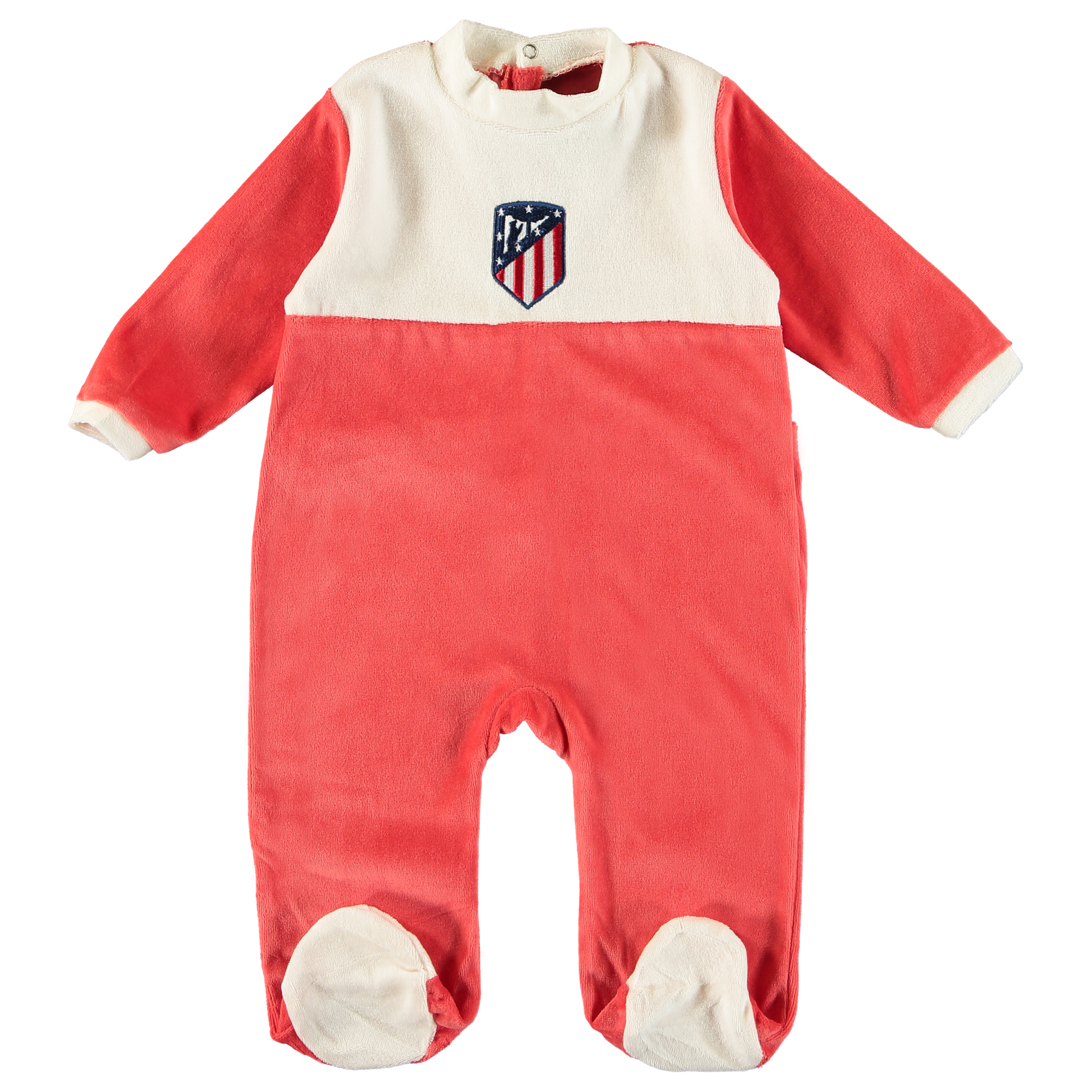 Pyjama de l'Atlético de Madrid - Rouge/Blanc - Bébé