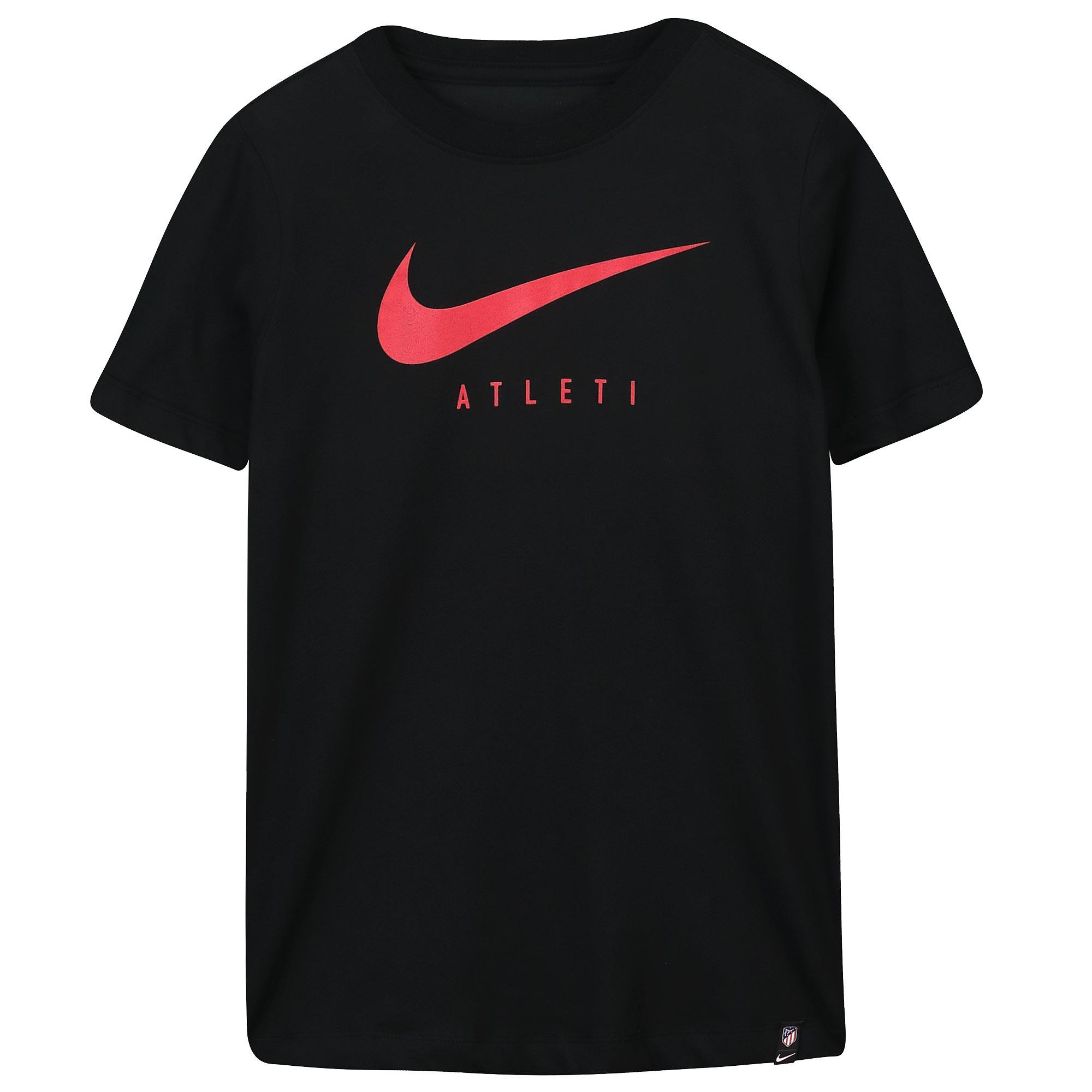 Nike / Camiseta de entrenamiento Training Ground del Atlético de Madrid en negro para niños