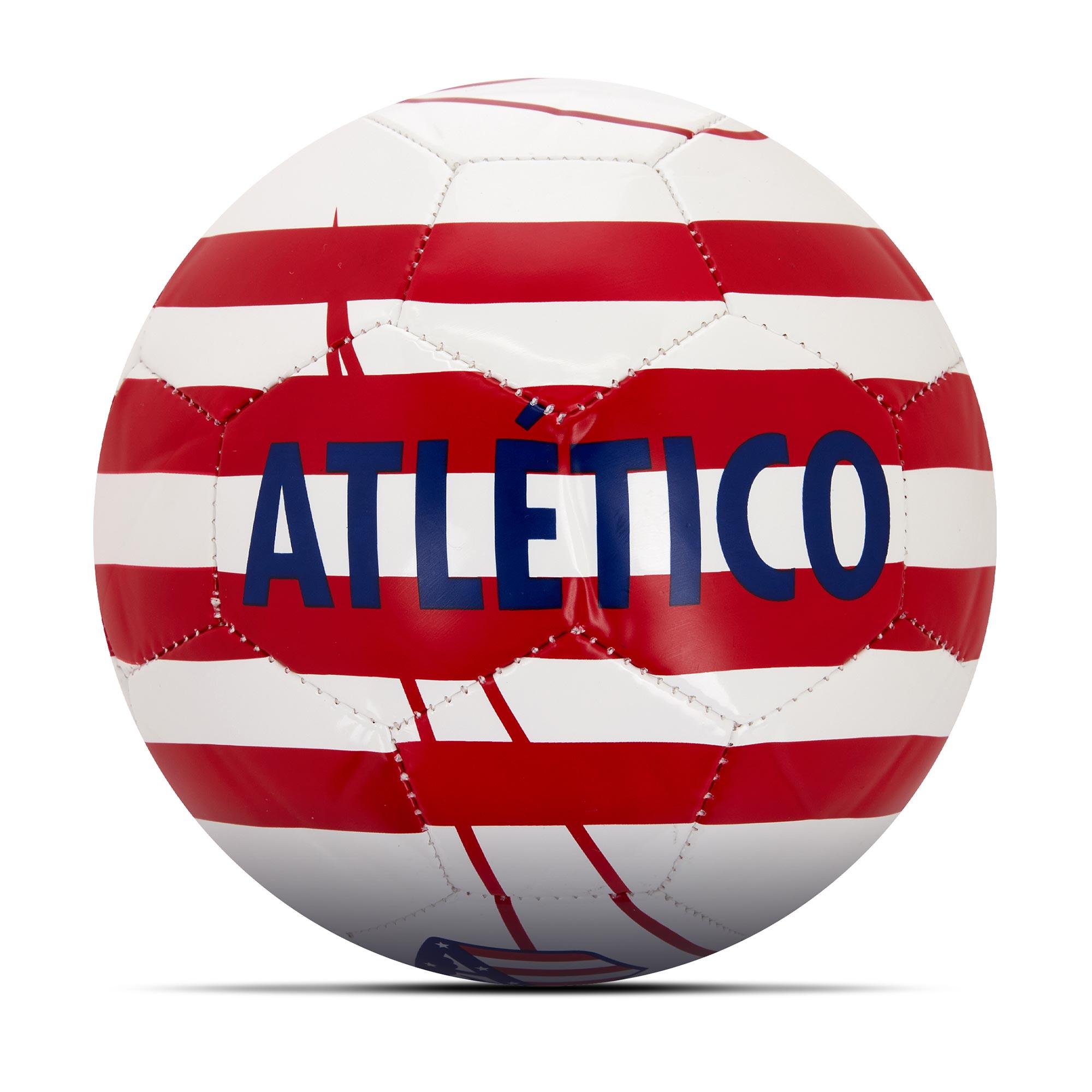 Balón de fútbol Skills del Atlético de Madrid en blanco