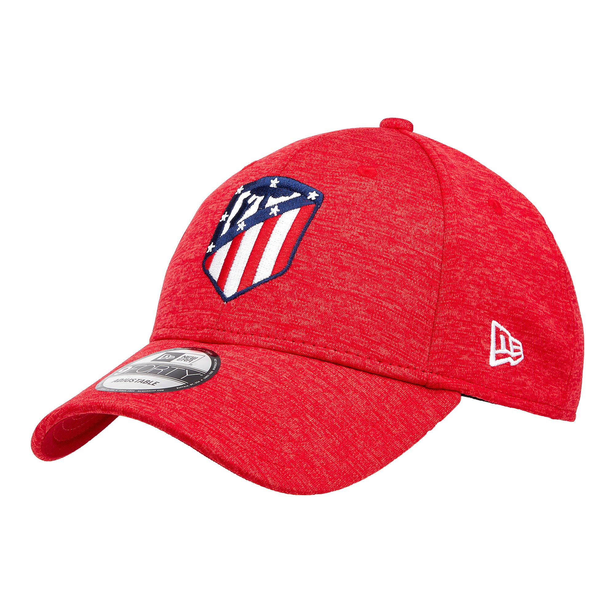 Gorra regulable 9FORTY Shadow Tech del Atlético de Madrid de New Era en rojo