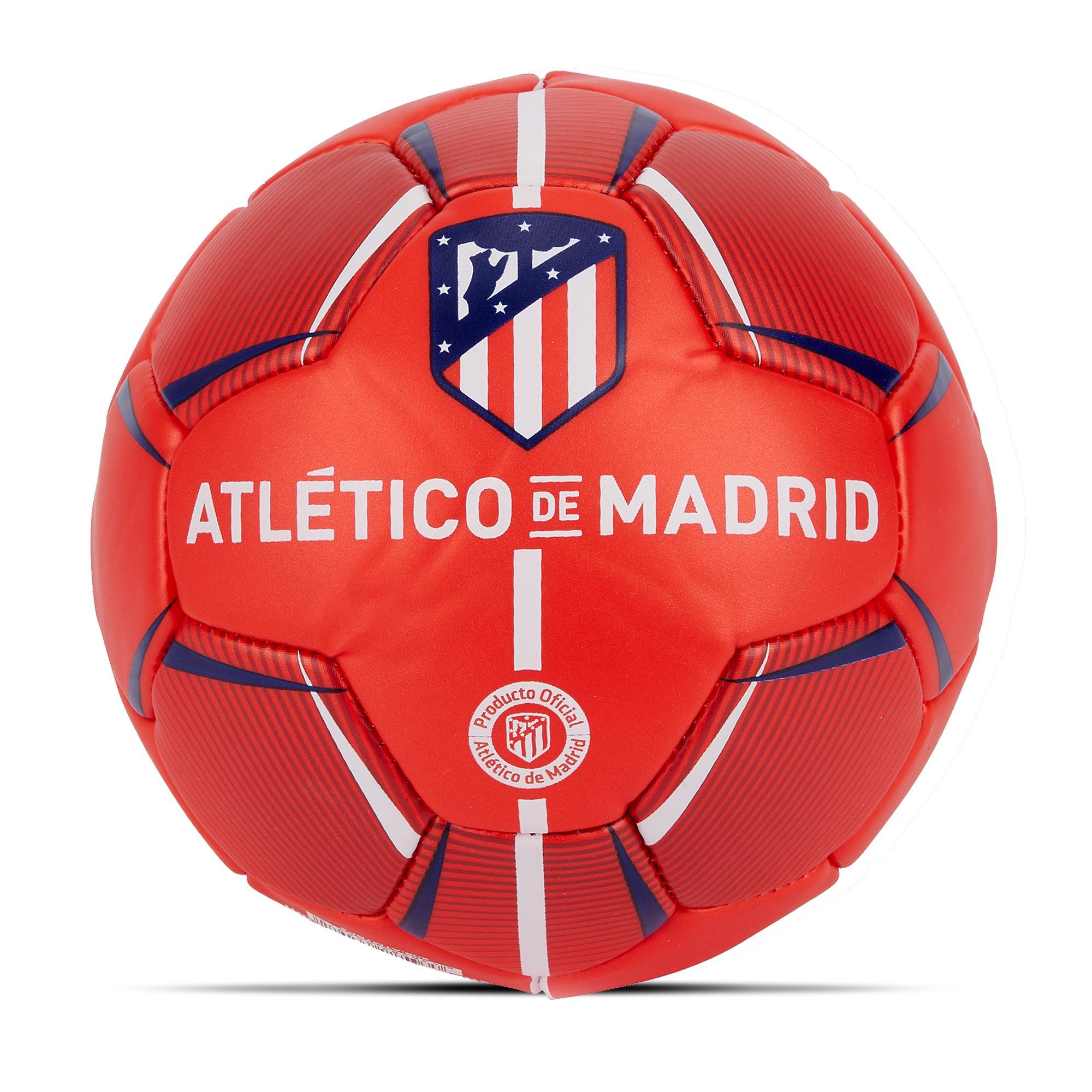 Prendas Deportivas Rogers SL / Balón de fútbol del Atlético de Madrid – Rojo – Talla 2