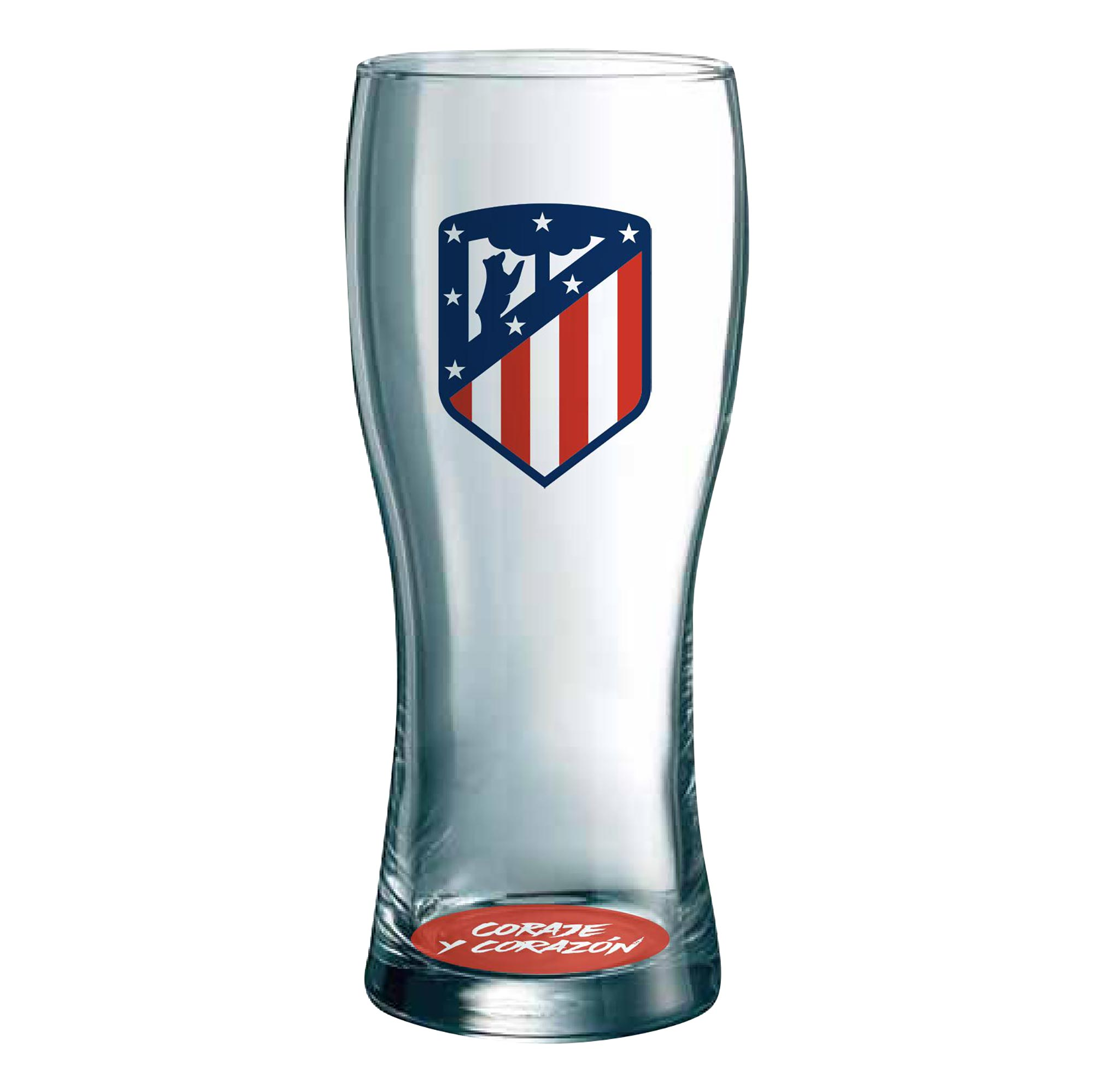 Glassware & Porcelain, S.L / Atlético de Madrid Crest Pint Glass