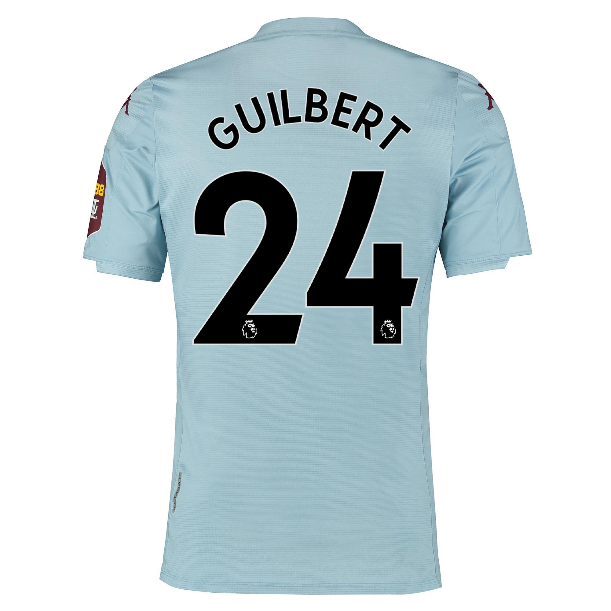 Camiseta Elite Fit de la 2.ª equipación del Aston Villa 2019-20 dorsal Guilbert 24