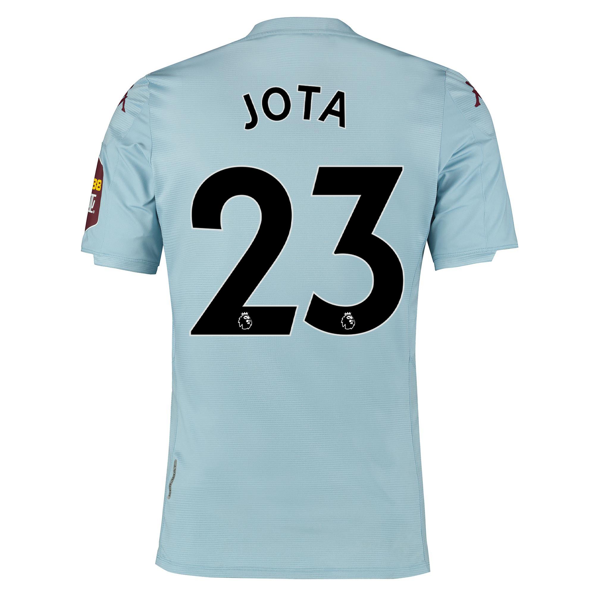 Camiseta de la 2.ª equipación del Aston Villa 2019-20 dorsal Jota 23
