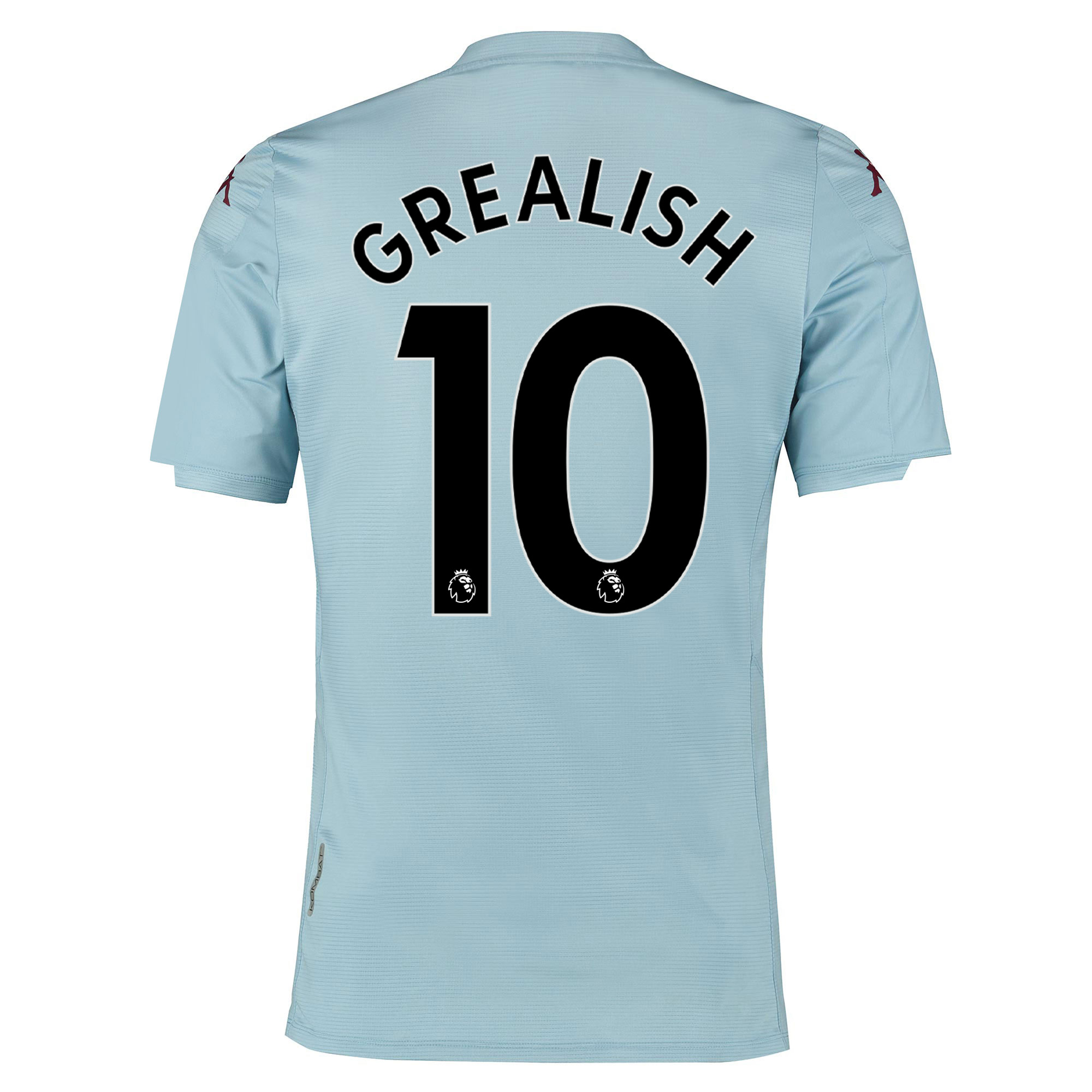 Camiseta de la 2.ª equipación del Aston Villa 2019-20 - para niños dorsal Grealish 10