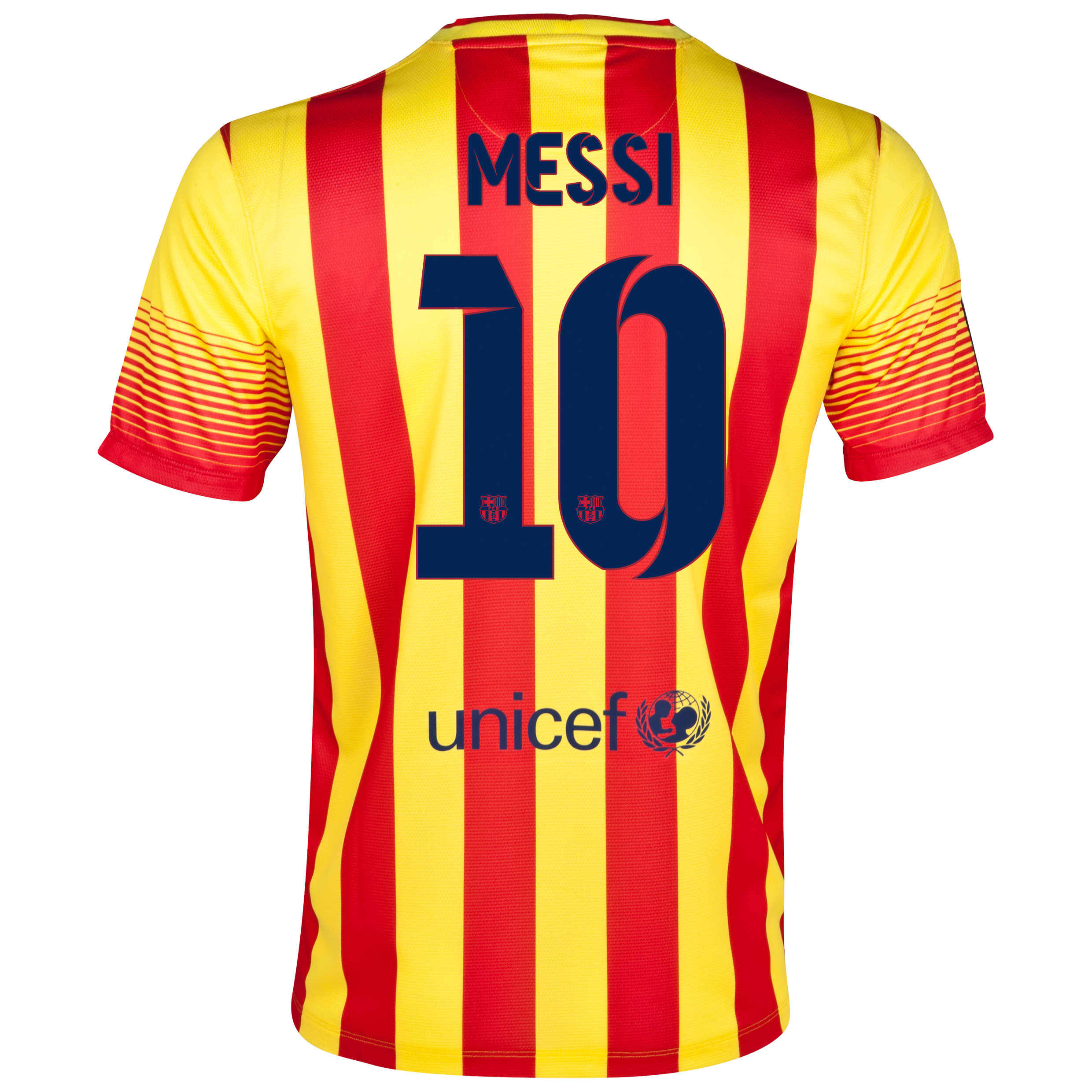Barcelona Away Shirt 2013/14 with Messi 10 printing