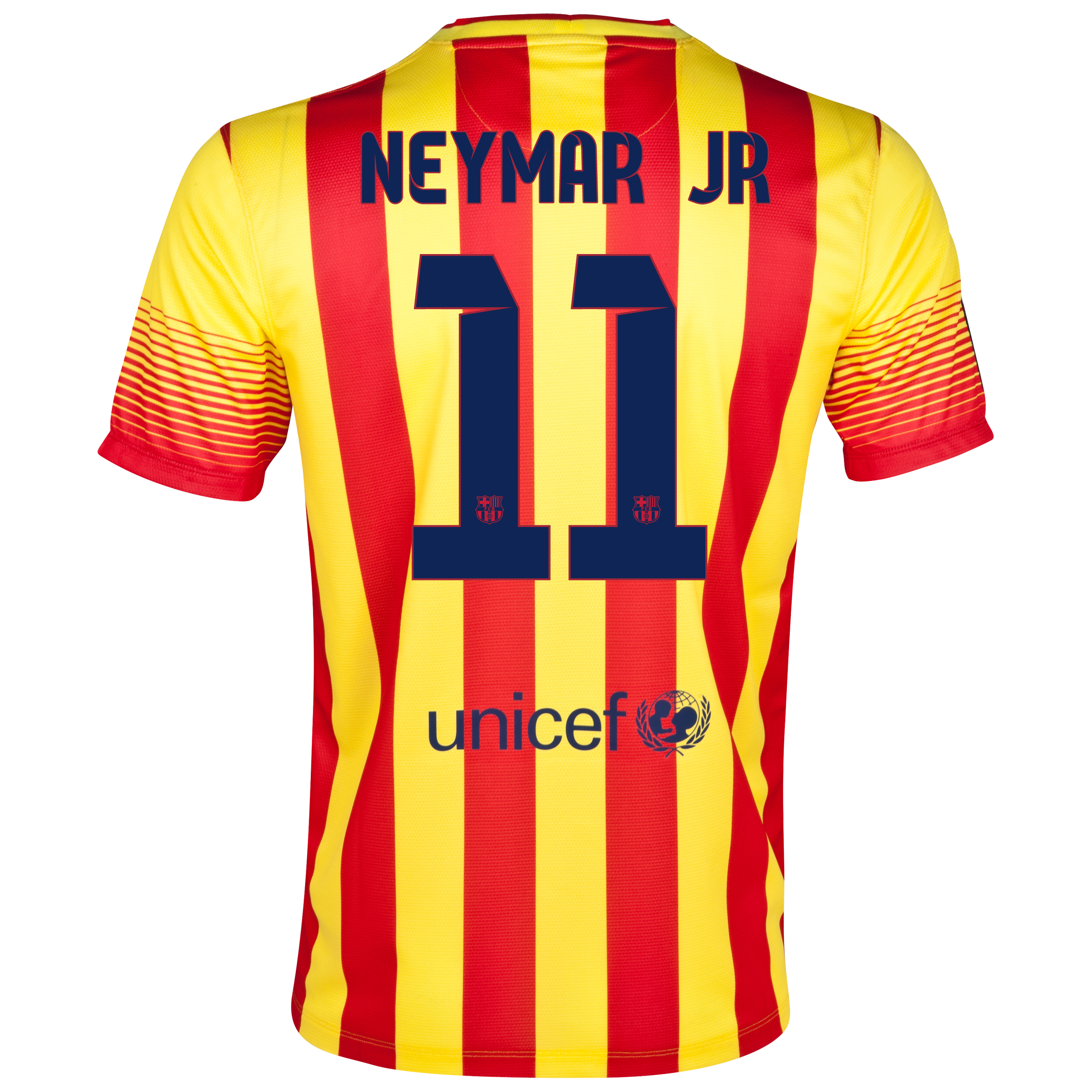 Barcelona Away Shirt 2013/14 - with Neymar Jr 11 printing