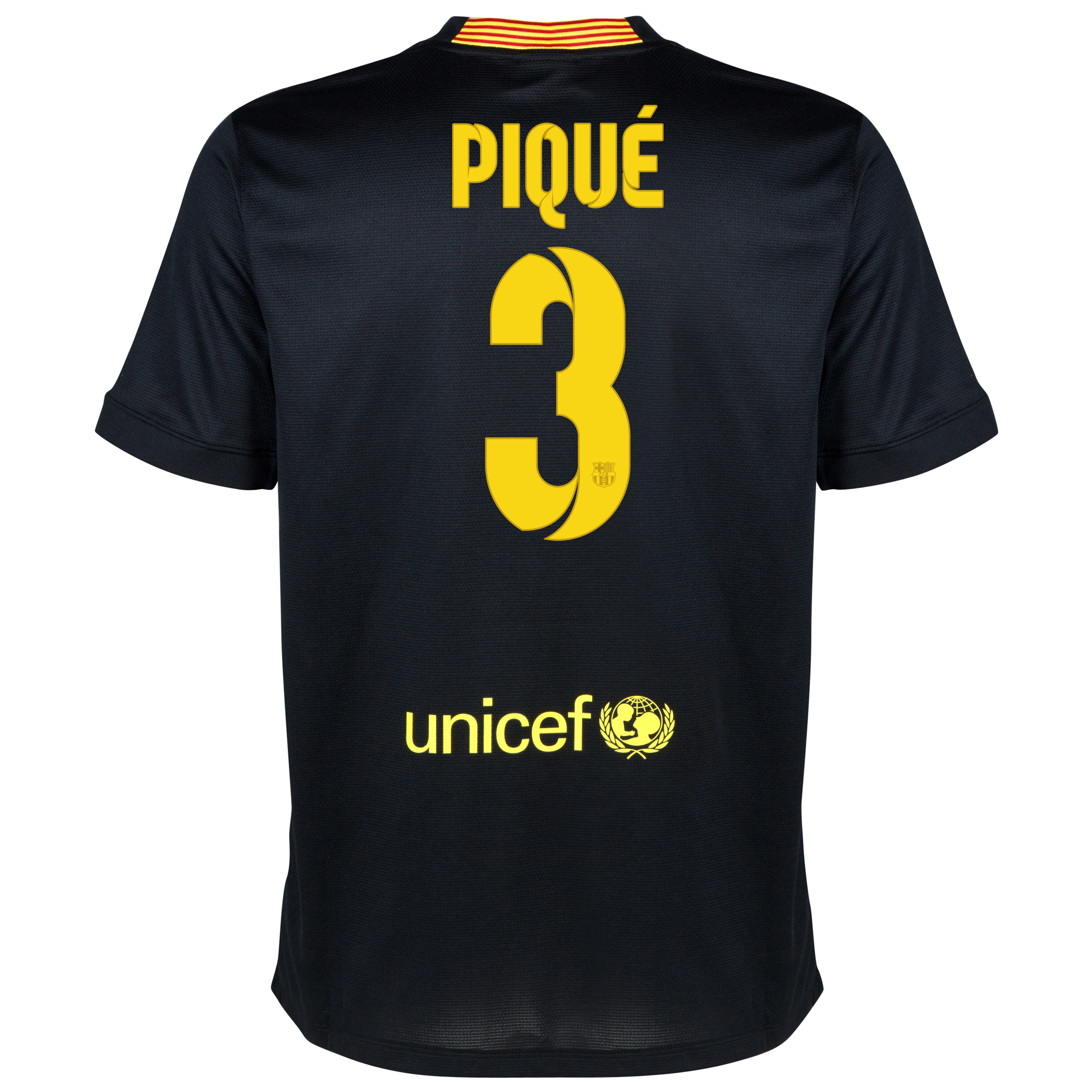 Barcelona Third Shirt 2013/14 with Pique 3 printing