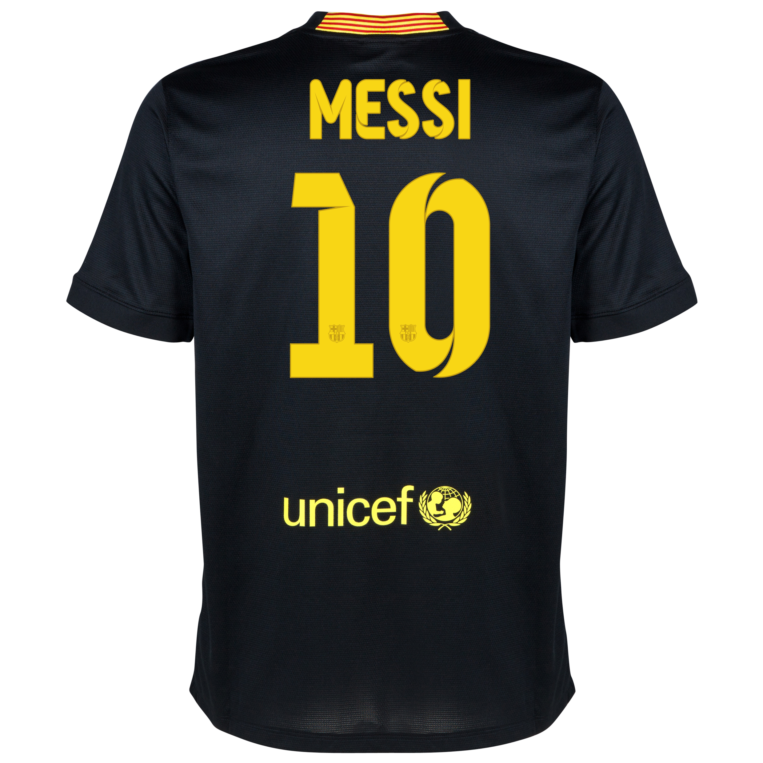 Barcelona Third Shirt 2013/14 with Messi 10 printing