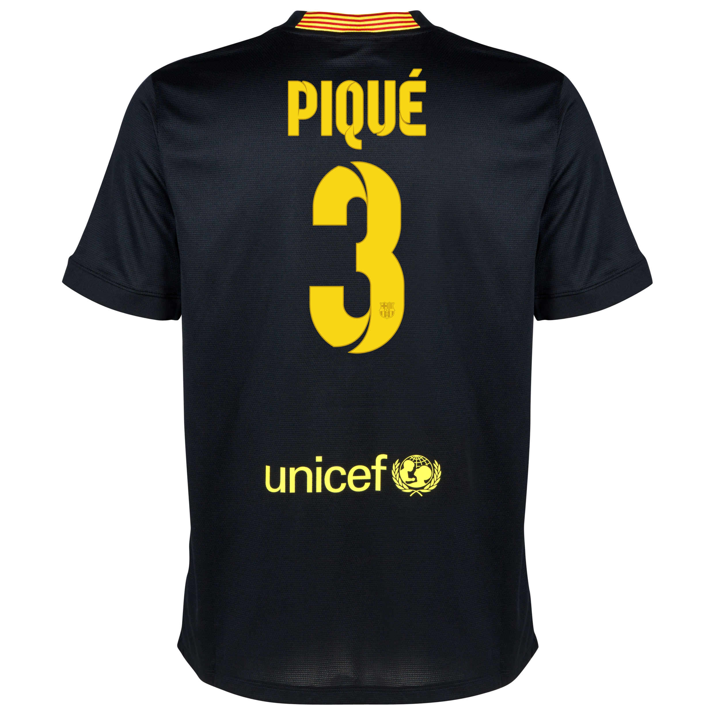 Barcelona Third Shirt 2013/14 - Kids with Pique 3 printing