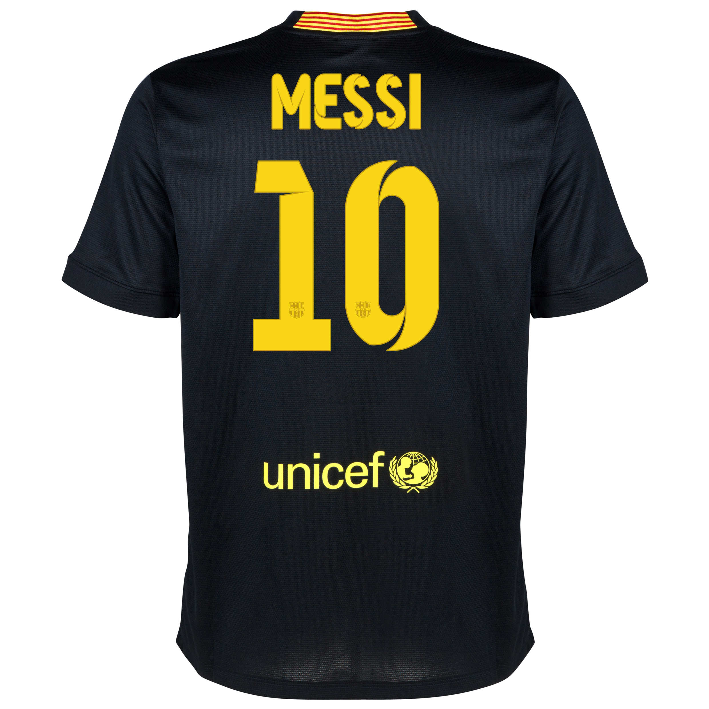 Barcelona Third Shirt 2013/14 - Kids with Messi 10 printing