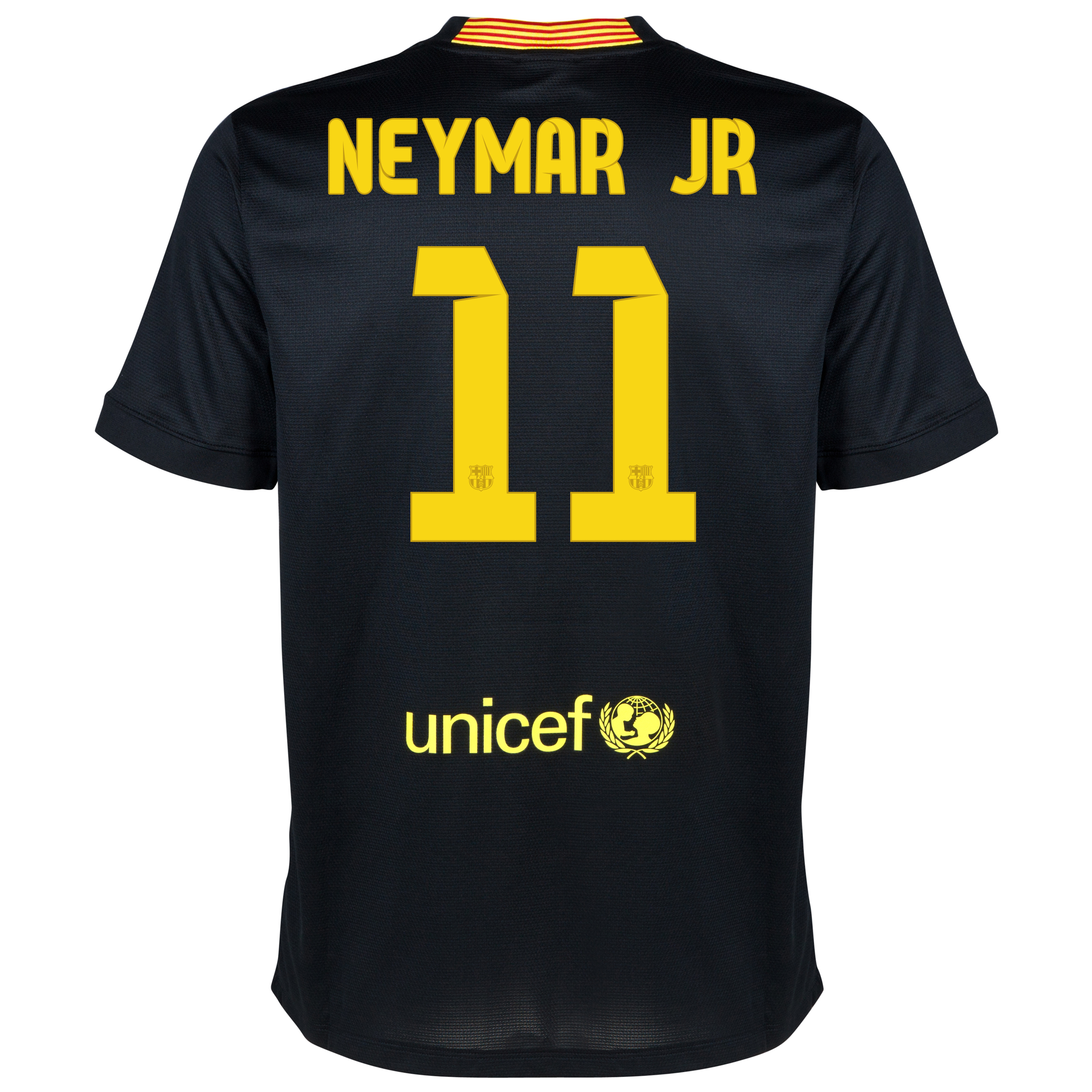 Barcelona Third Shirt 2013/14 - Kids with Neymar Jr 11 printing