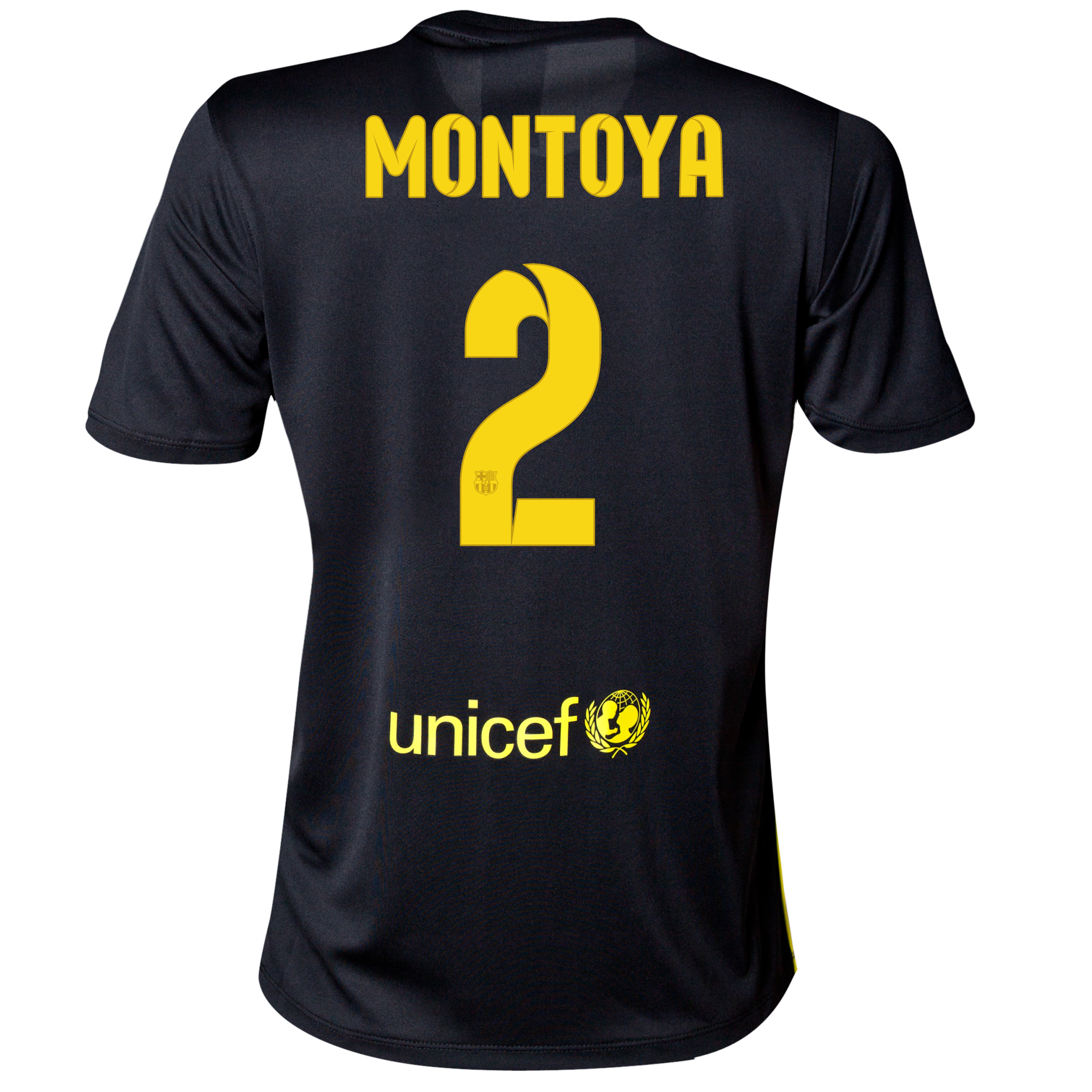 Barcelona Third Shirt 2013/14 - Womens with Montoya 2 printing