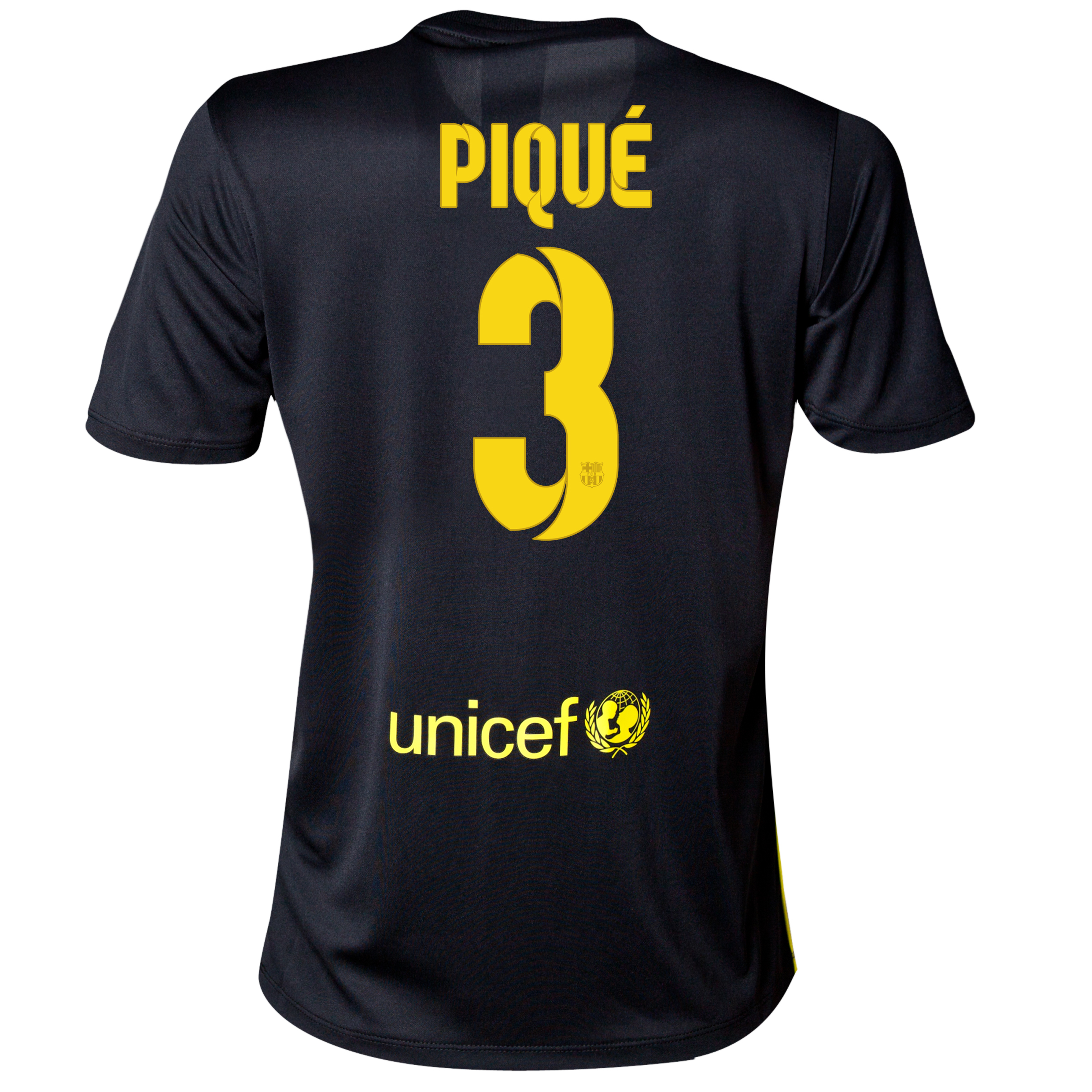 Barcelona Third Shirt 2013/14 - Womens with Pique 3 printing