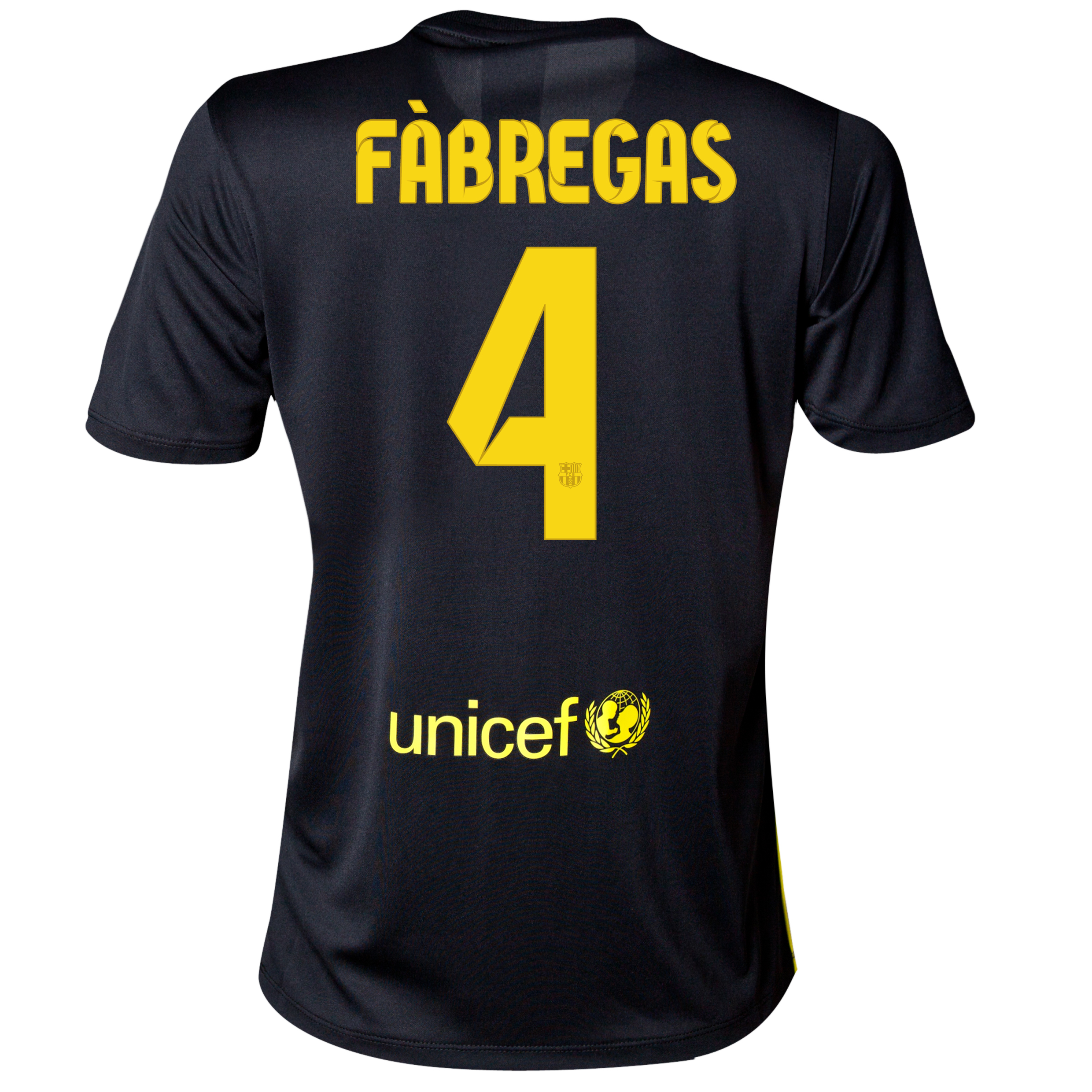 Barcelona Third Shirt 2013/14 - Womens with Fabregas 4 printing