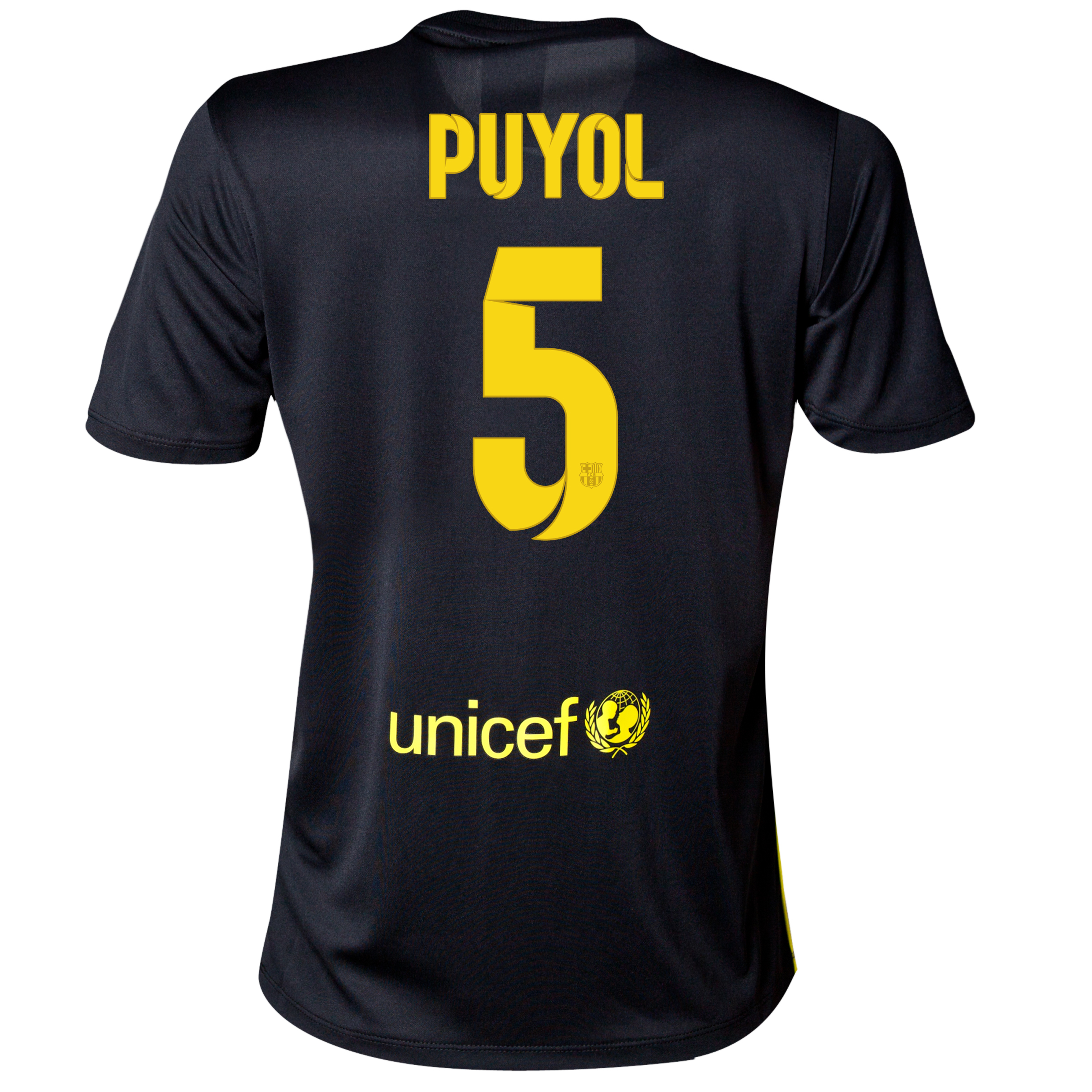 Barcelona Third Shirt 2013/14 - Womens with Puyol 5 printing