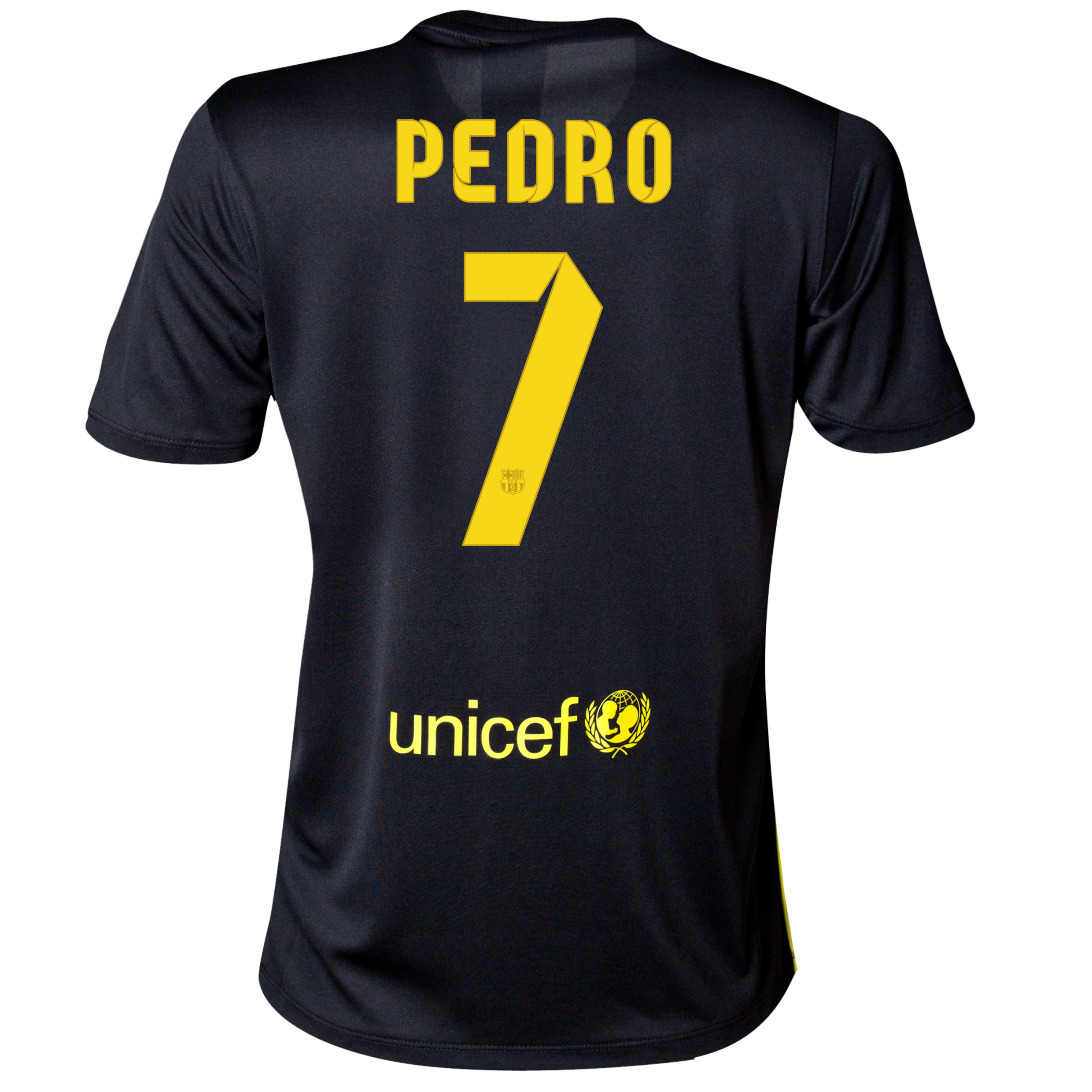 Barcelona Third Shirt 2013/14 - Womens with Pedro 7 printing
