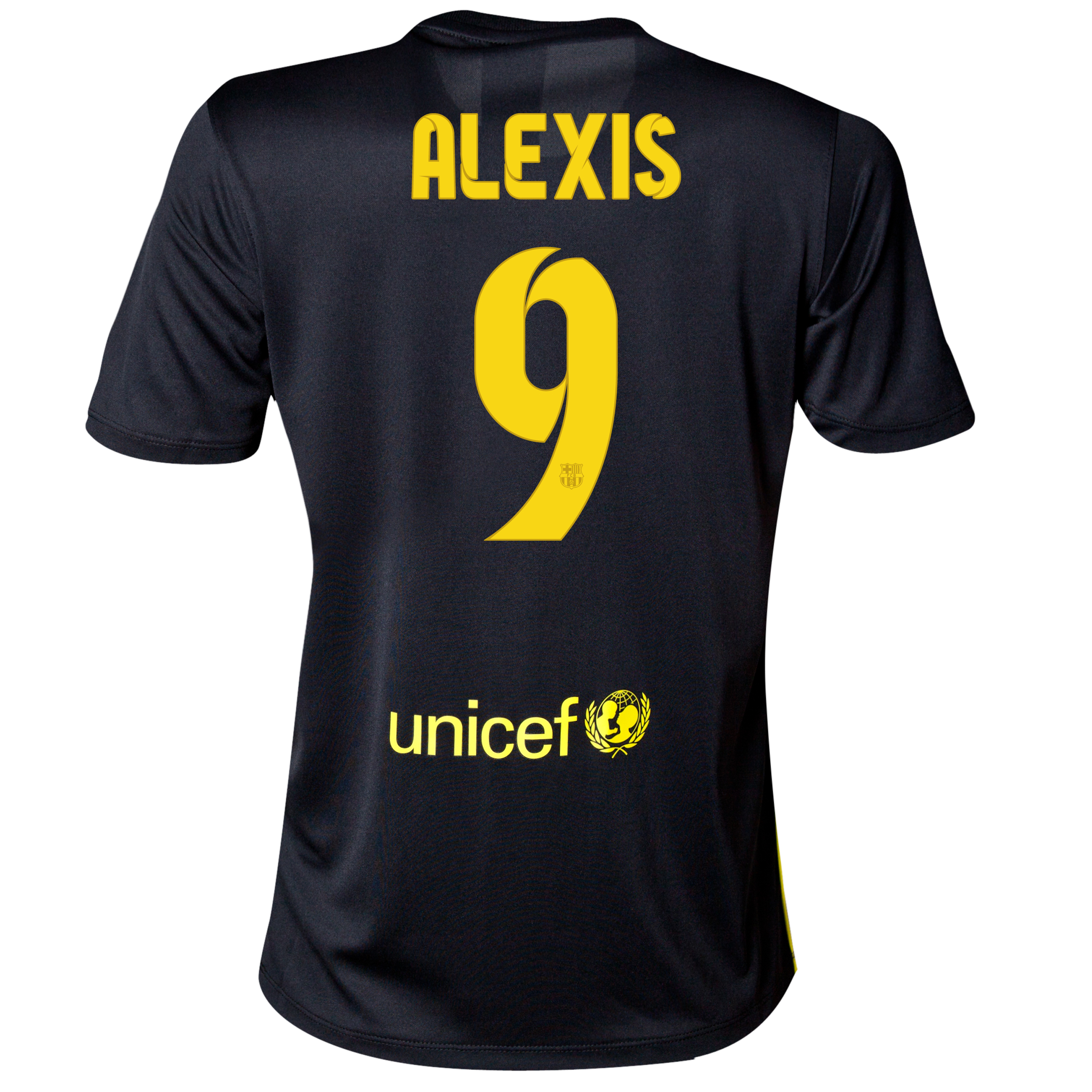Barcelona Third Shirt 2013/14 - Womens with Alexis 9 printing