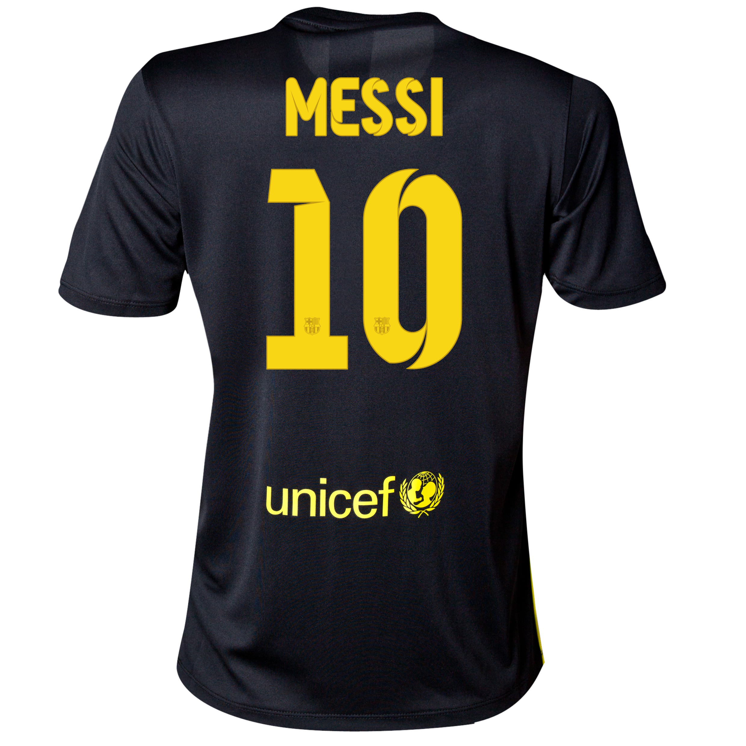 Barcelona Third Shirt 2013/14 - Womens with Messi 10 printing