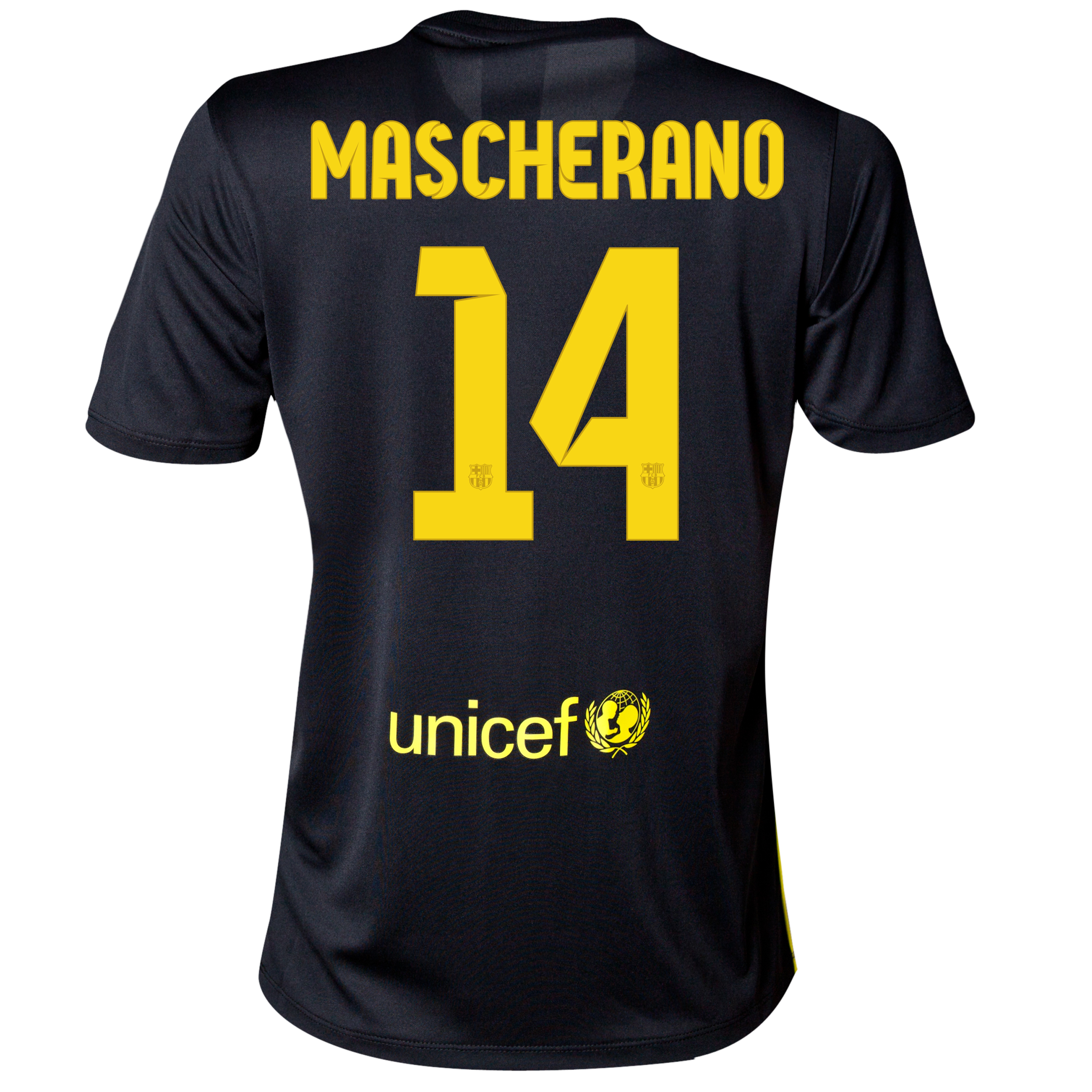 Barcelona Third Shirt 2013/14 - Womens with Mascherano 14 printing