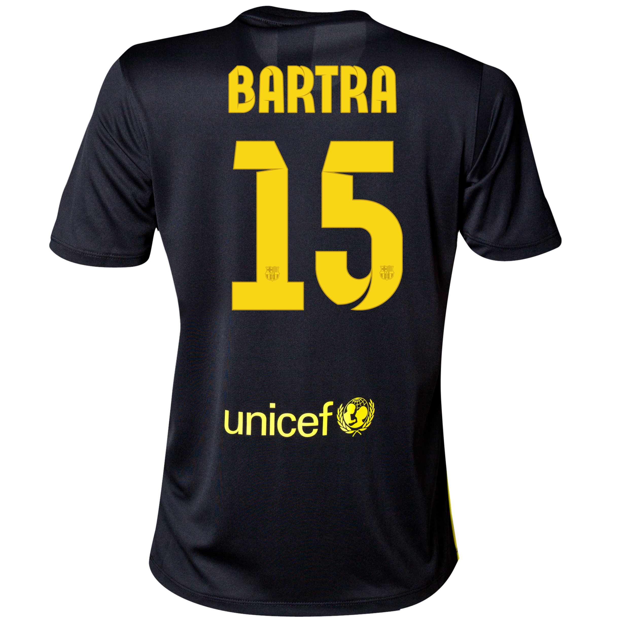 Barcelona Third Shirt 2013/14 - Womens with Bartra 15 printing