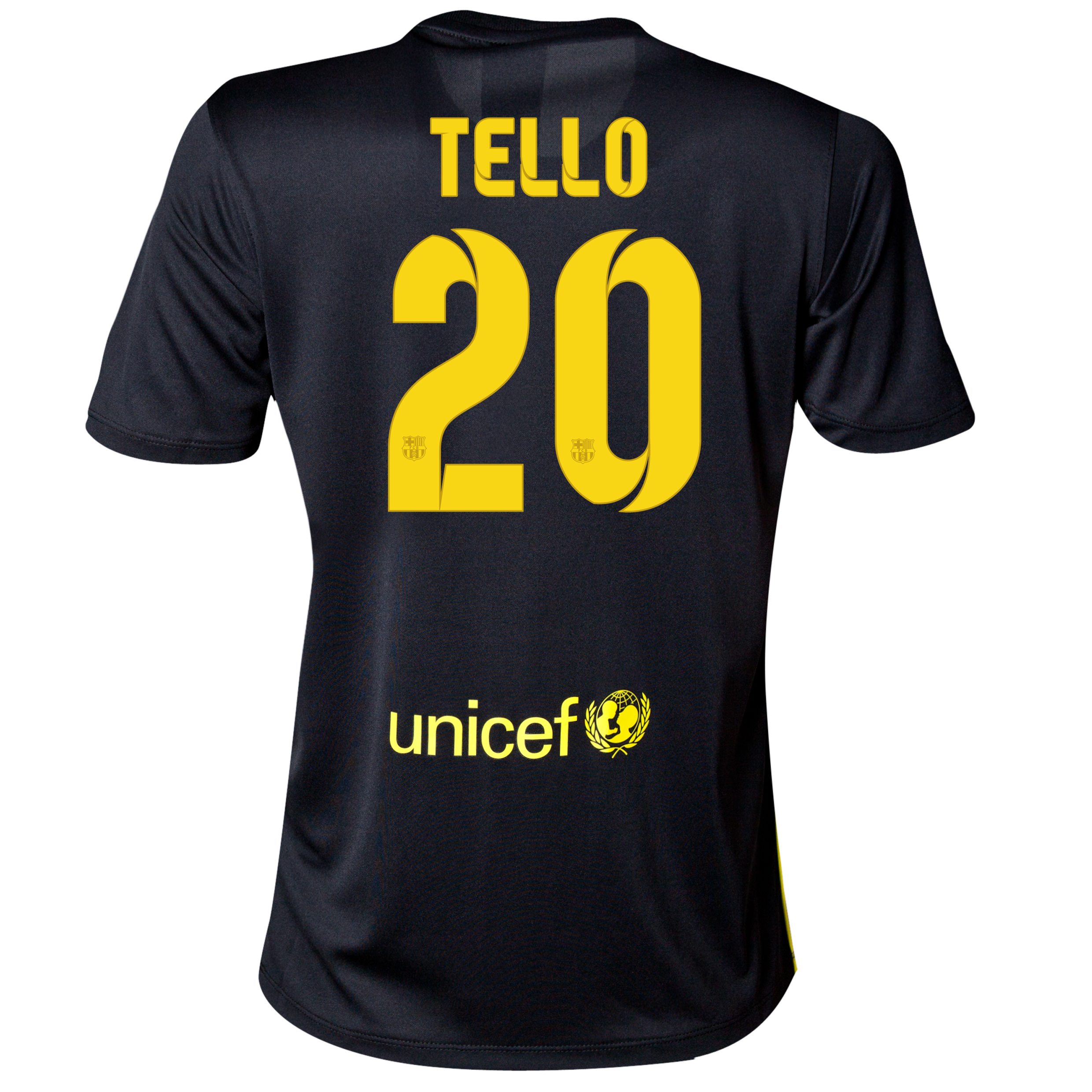 Barcelona Third Shirt 2013/14 - Womens with Tello 20 printing