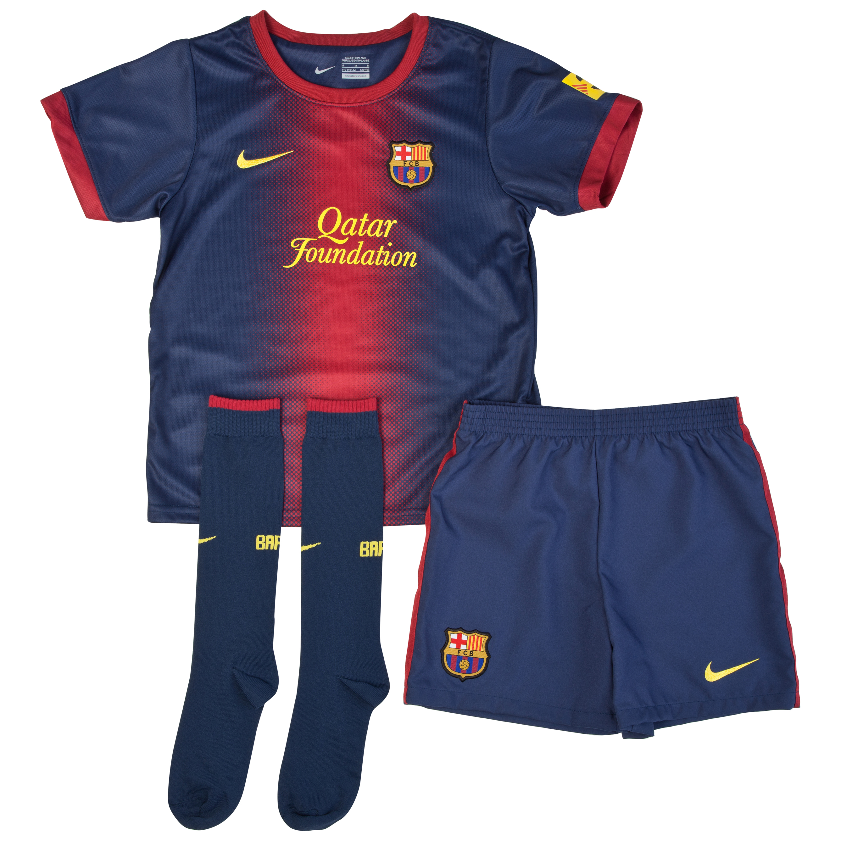 Barcelona Home Kit 2012/13 - Little Boys