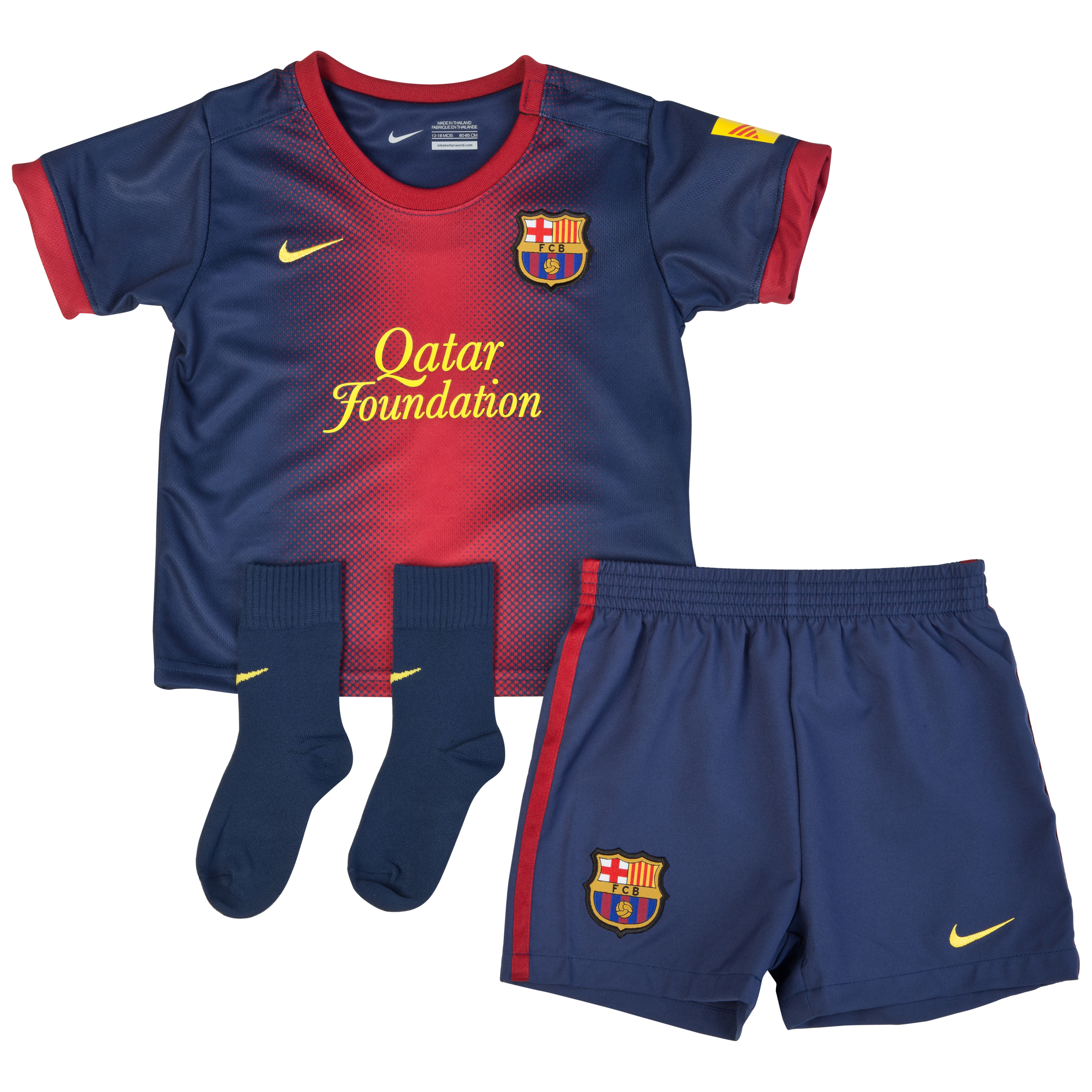 Barcelona Home Kit 2012/13 - Infants