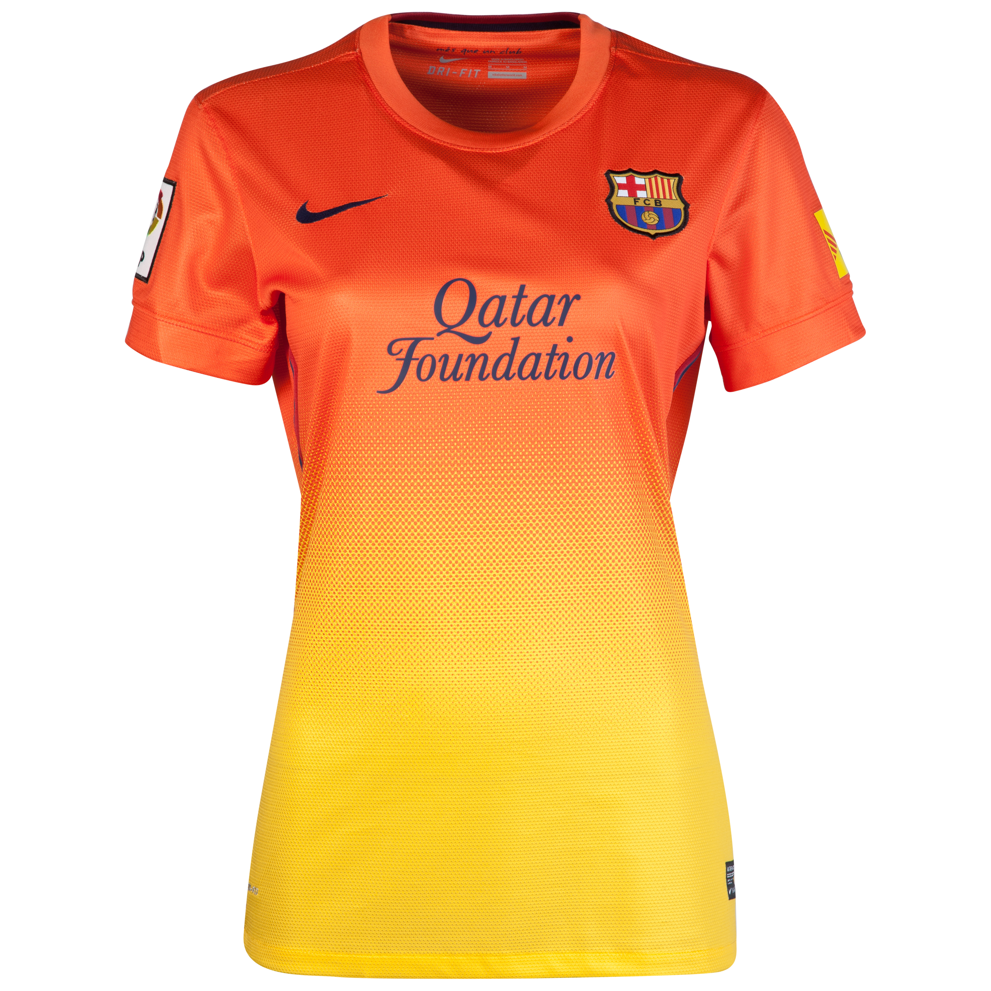 Barcelona Away Shirt 2012/13  Womens