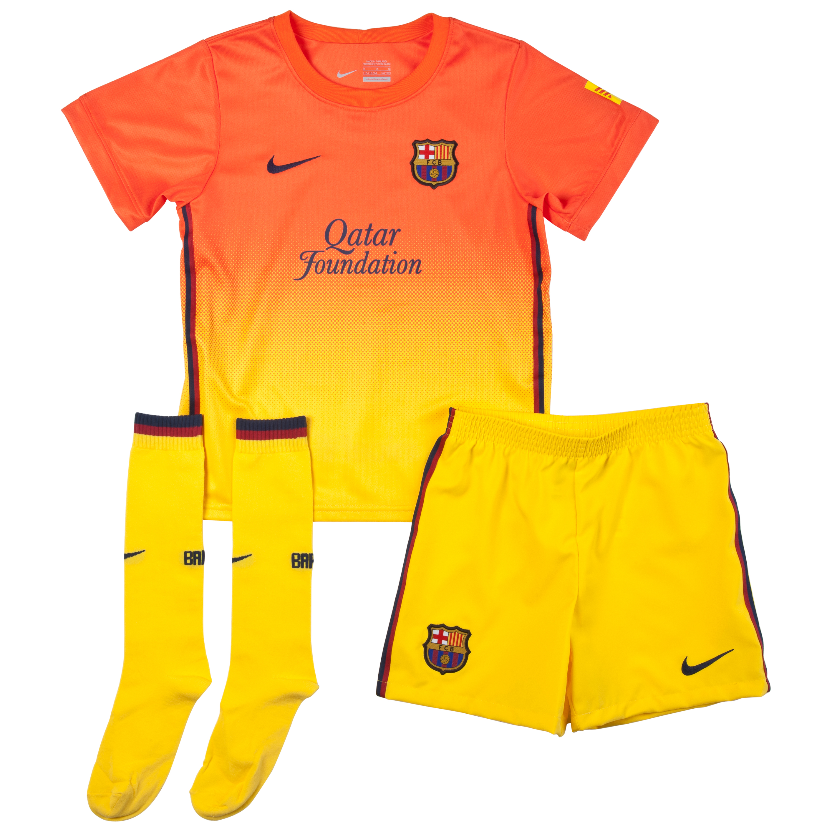 Barcelona Away Kit 2012/13 Little Boys