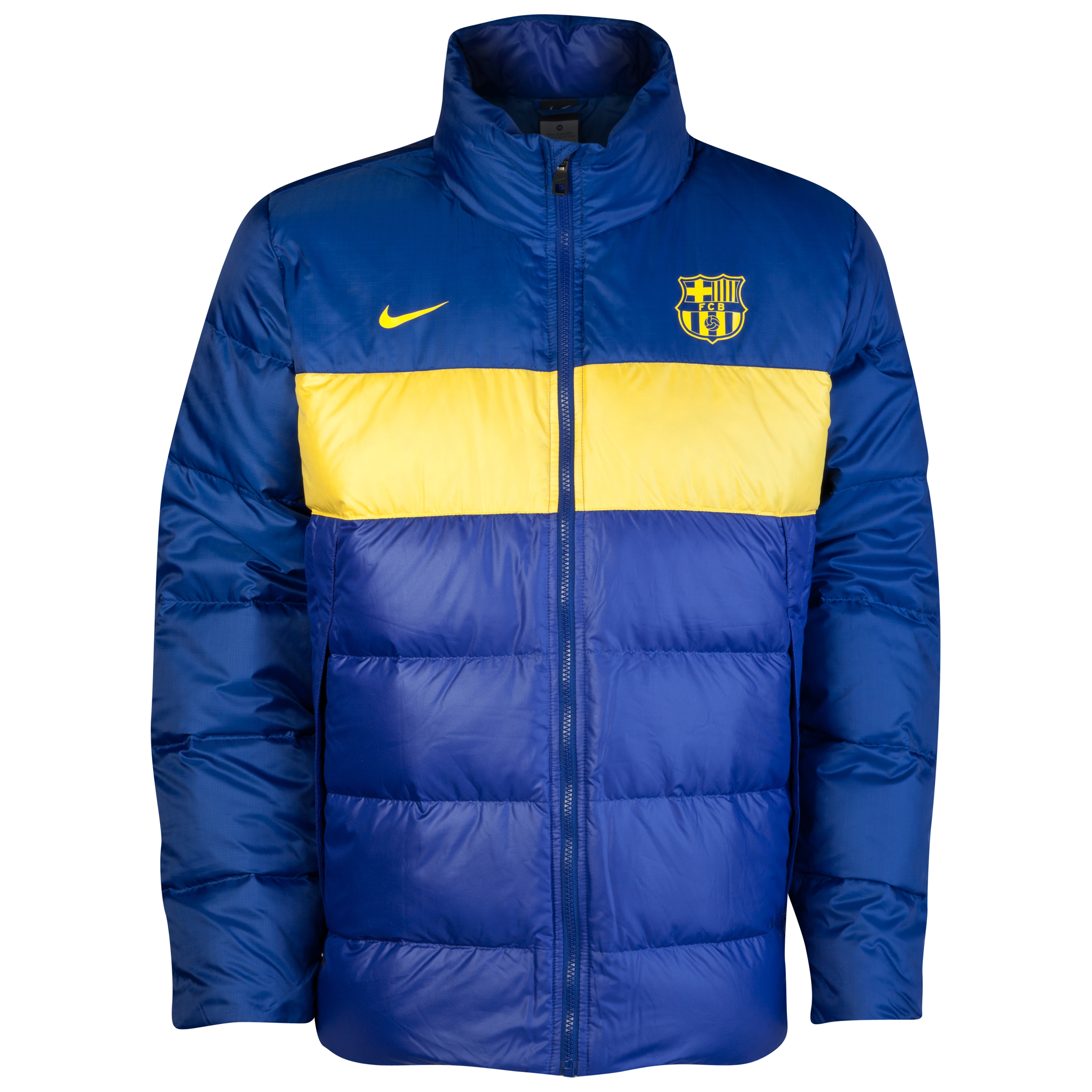 Barcelona Down Jacket - Deep Royal Blue/Tour Yellow