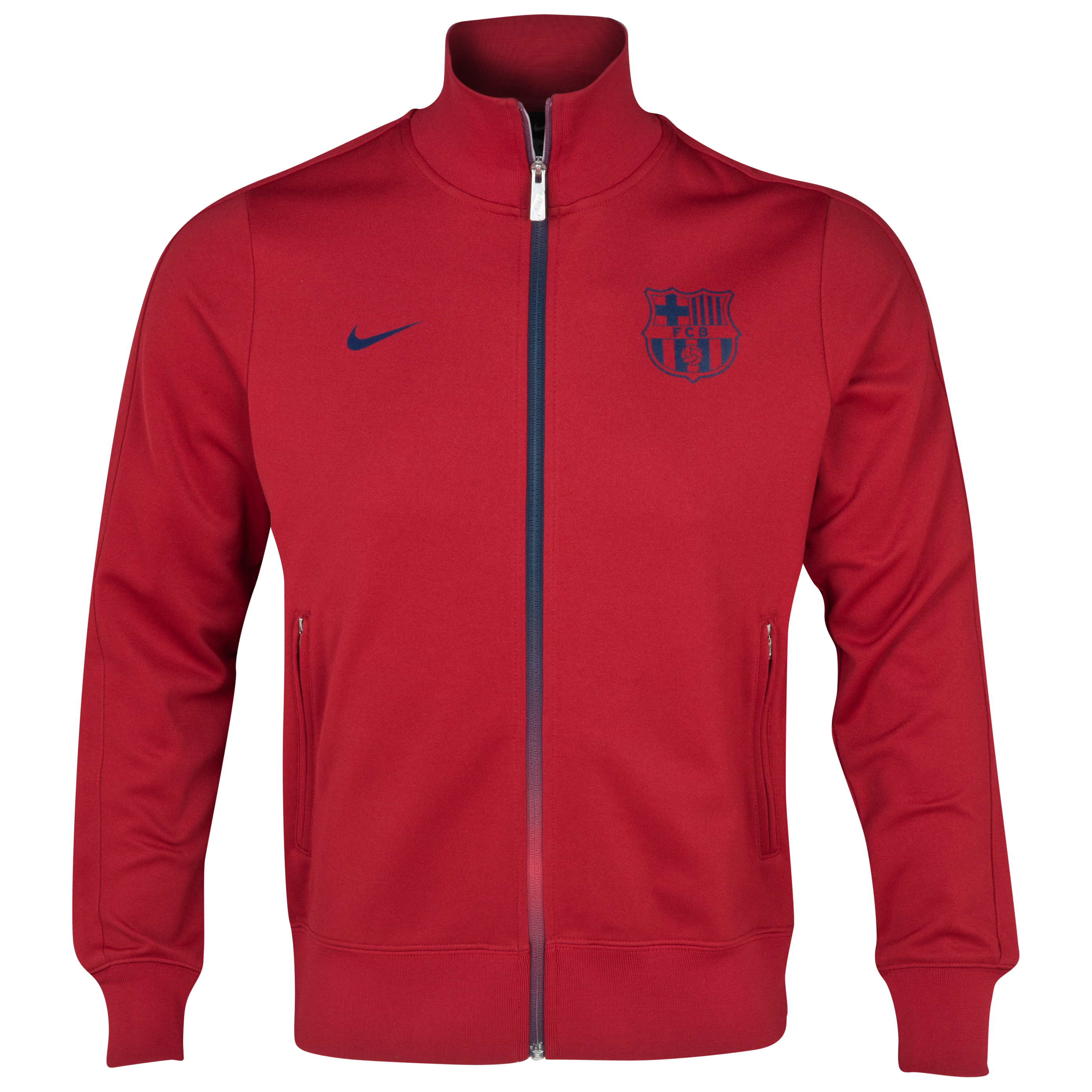 Barcelona Authentic N98 Jacket - Storm Red/Midnight Navy/Midnight Navy