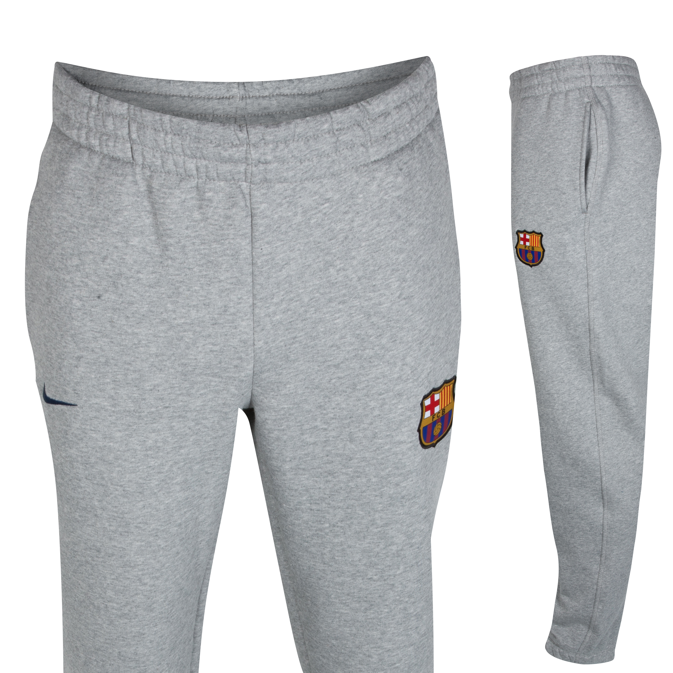 Barcelona Core Fleece Cuff Pant - Dark Grey Heather/Midnight Navy