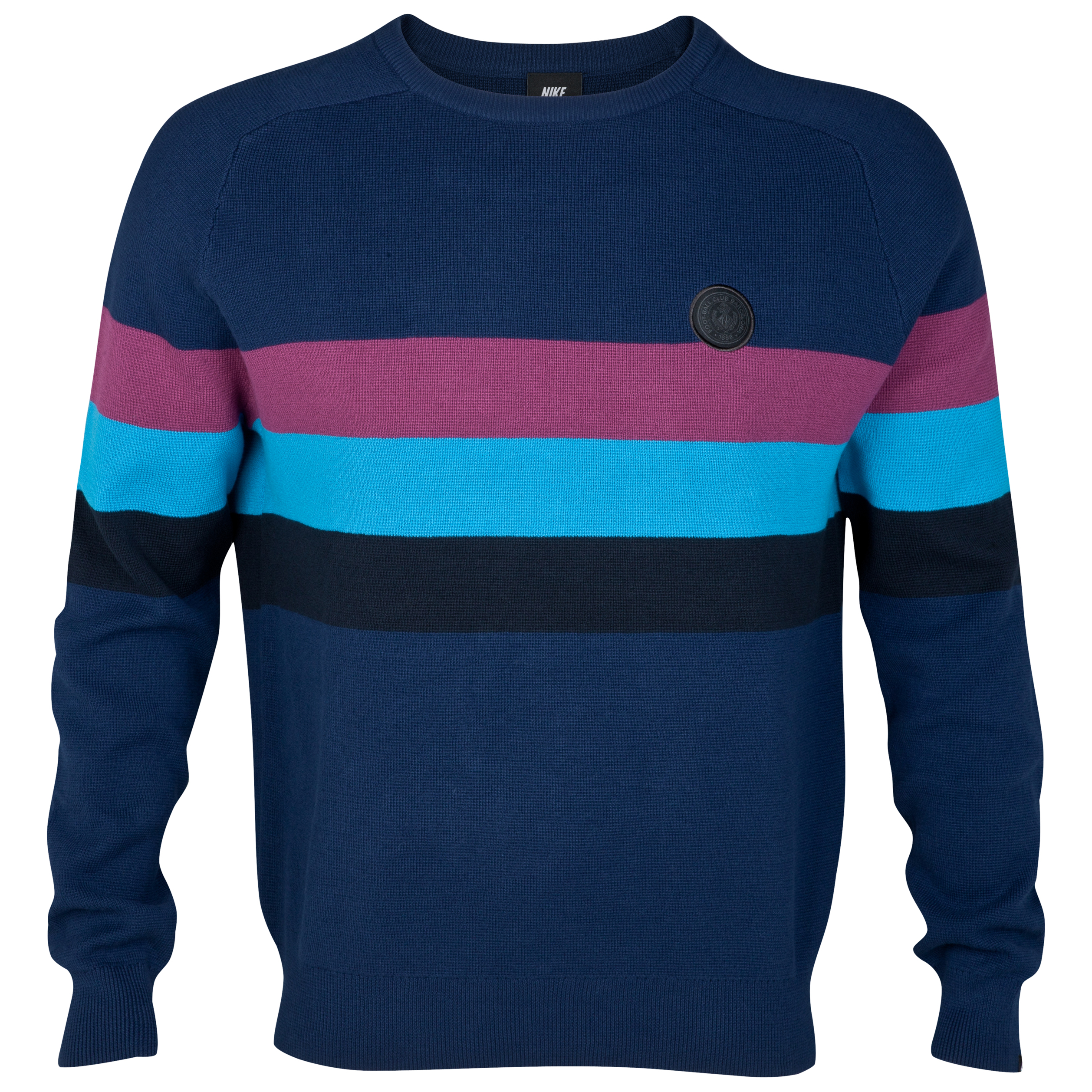 Barcelona NSW Knitted Crew Neck Sweater - Midnight Navy