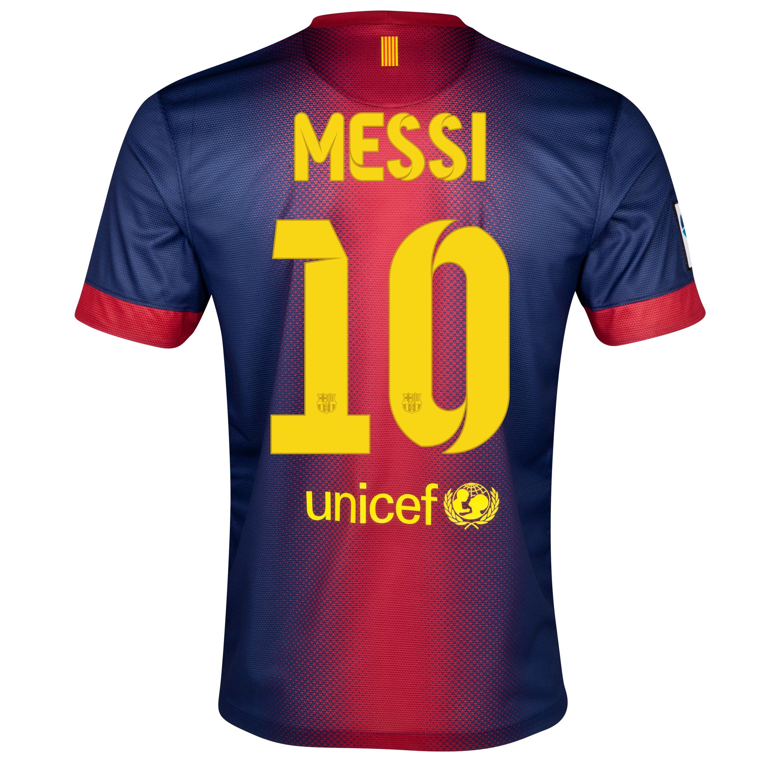 Barcelona Home Shirt 2012/13 with Messi 10 printing