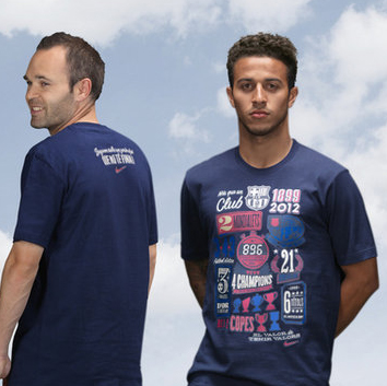 Barcelona Limited Edition Commemorative T-Shirt. for 24€