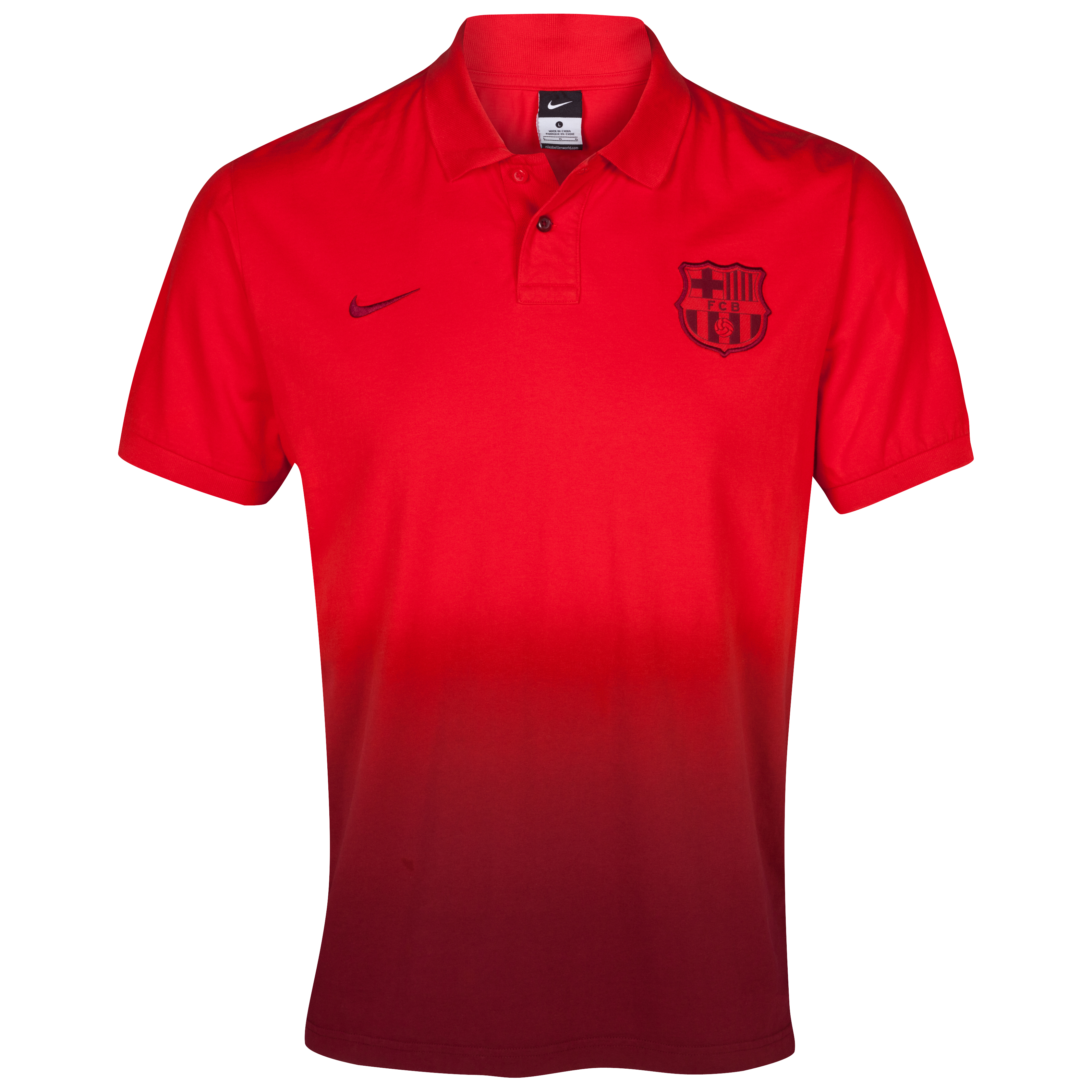 Barcelona Authentic Grandslam Polo - Challenge Red/Team Red/Team Red