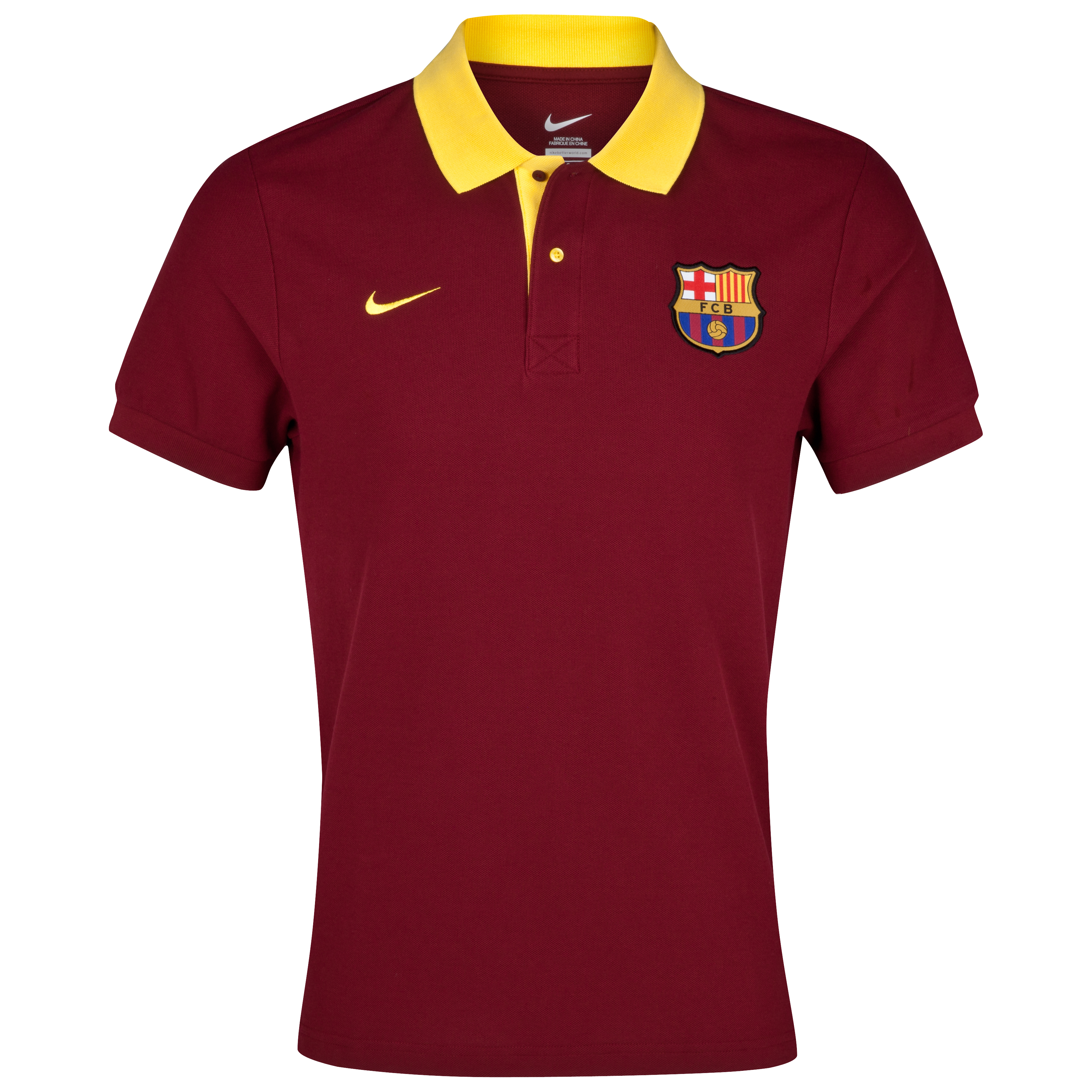 Barcelona Core Polo Team - Red/Tour Yellow