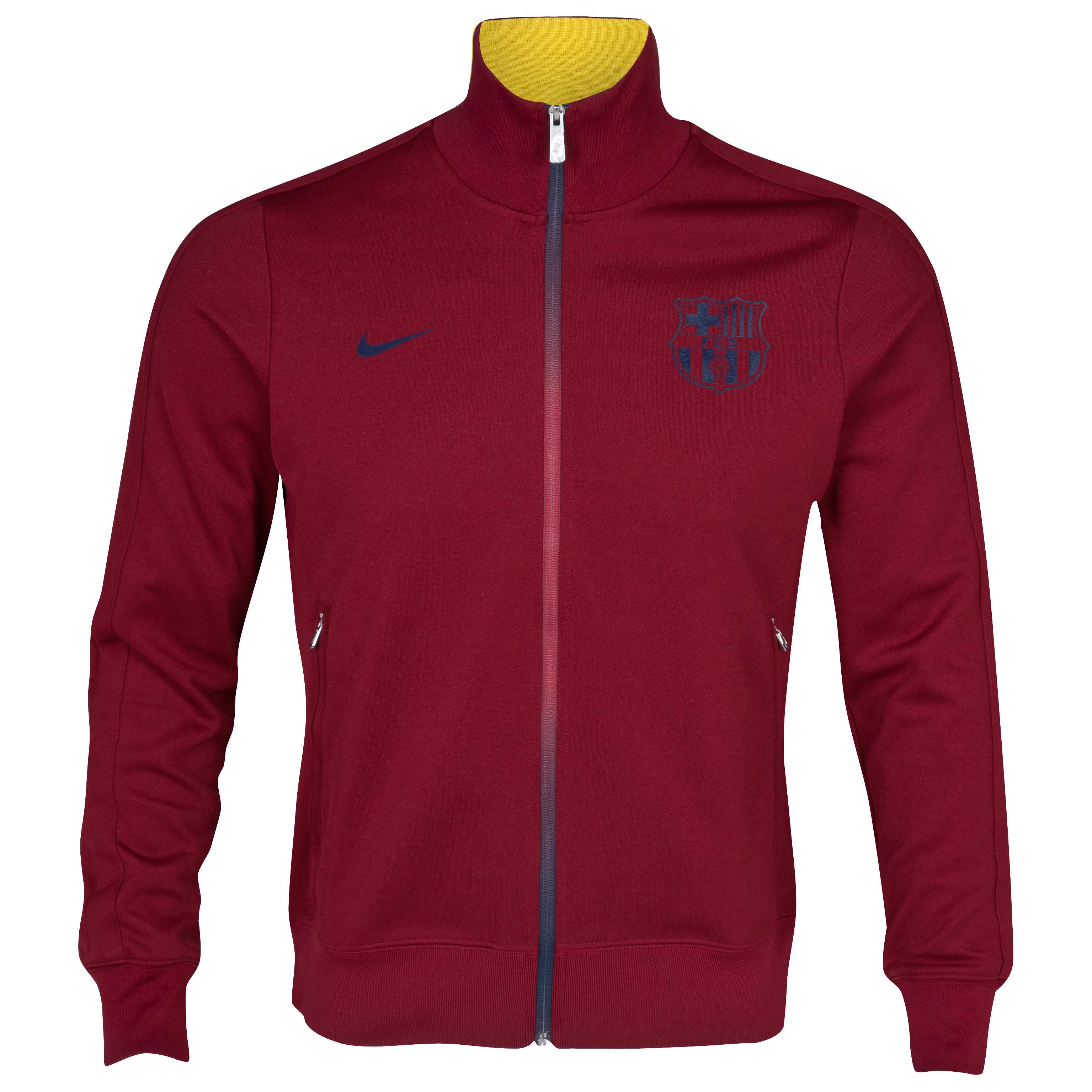 Barcelona Authentic N98 Jacket	- Team Red/Team Red/Midnight Navy