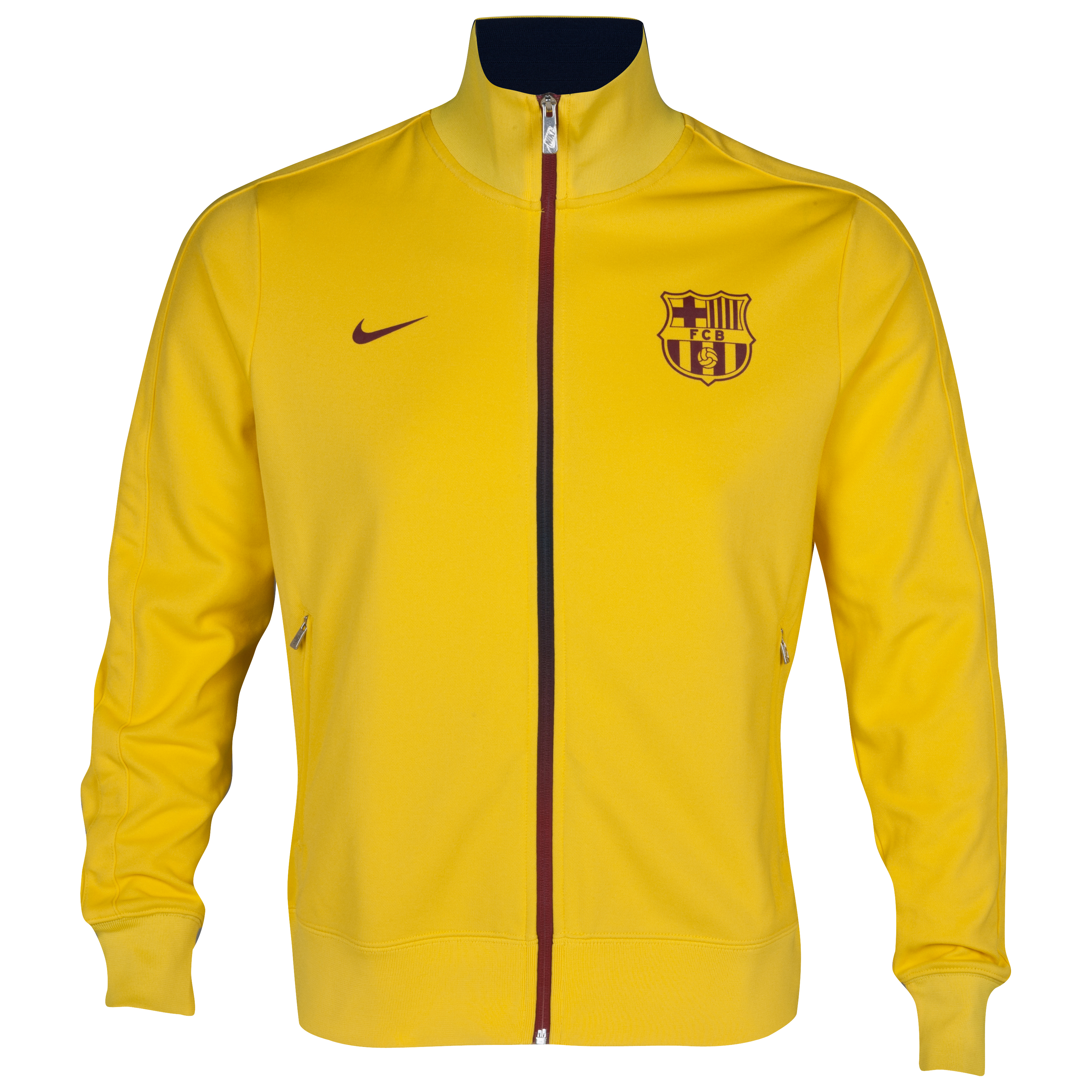 Barcelona Authentic N98 Jacket - Tour Yellow/Tour Yellow/Team Red
