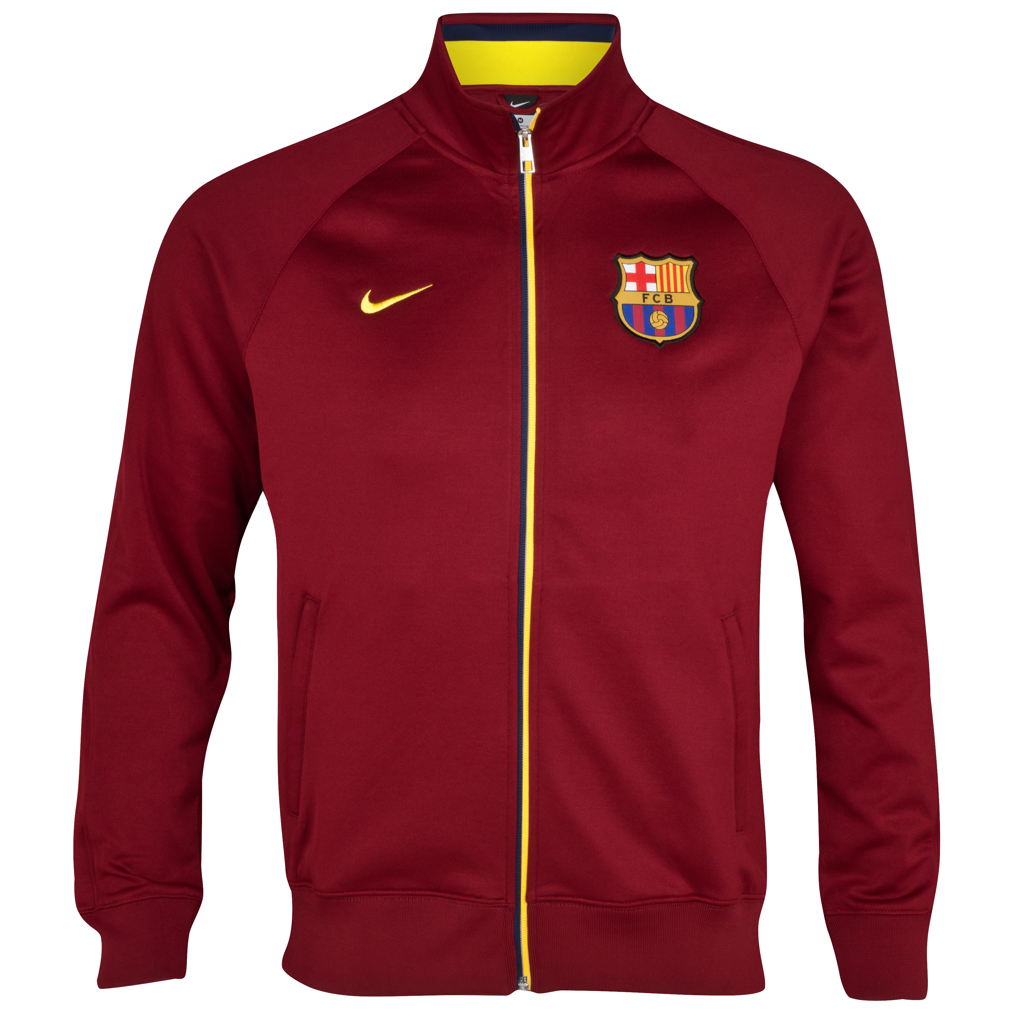 Barcelona Core Trainer Jacket - Team Red/Tour Yellow